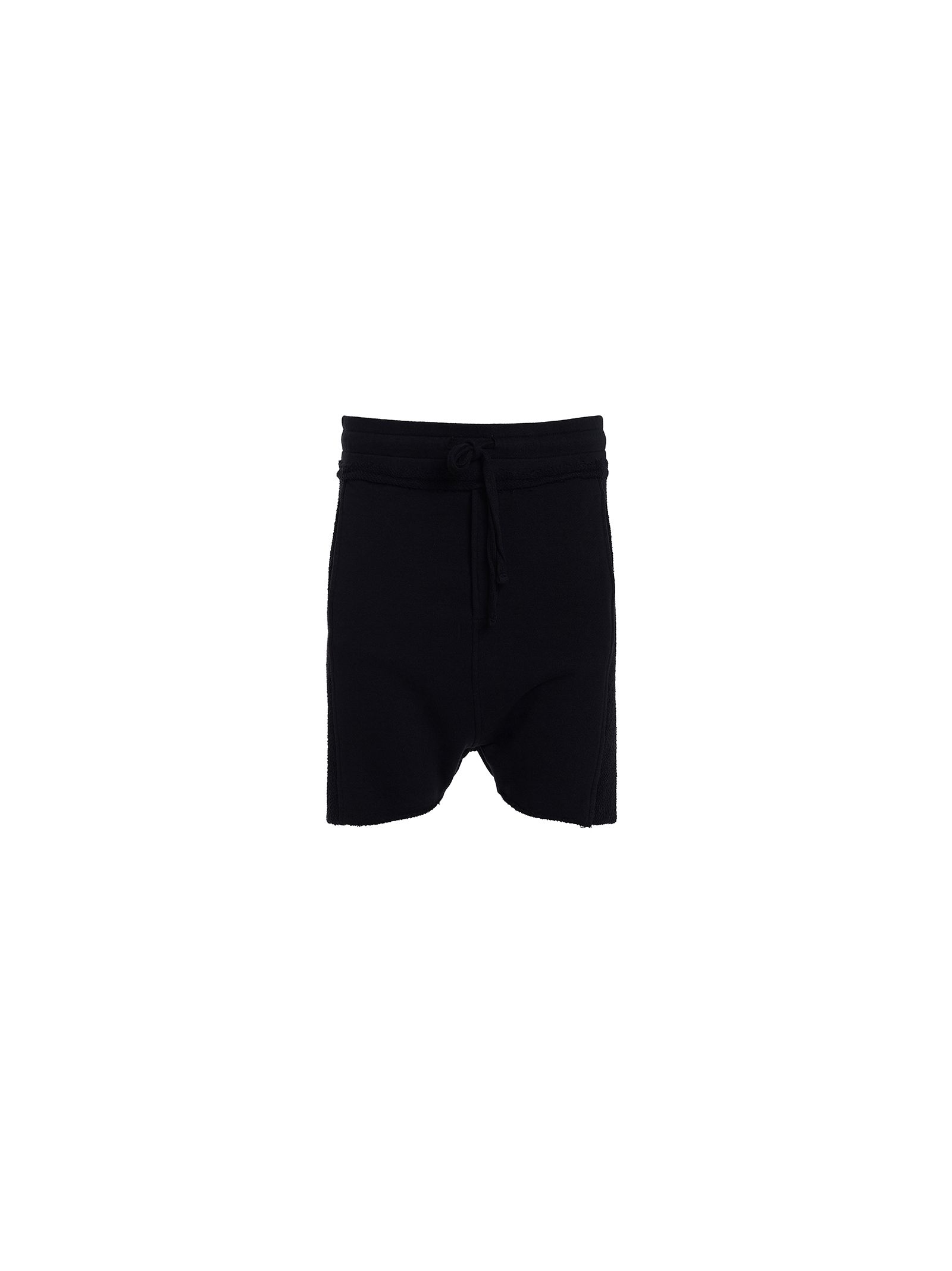 Thom Krom Black Fleece Bermuda Shorts