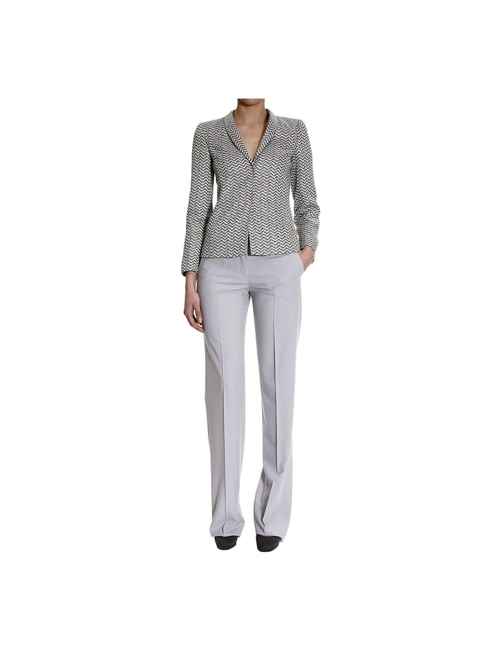 Suit Jaquard Barb Pants Tailleur
