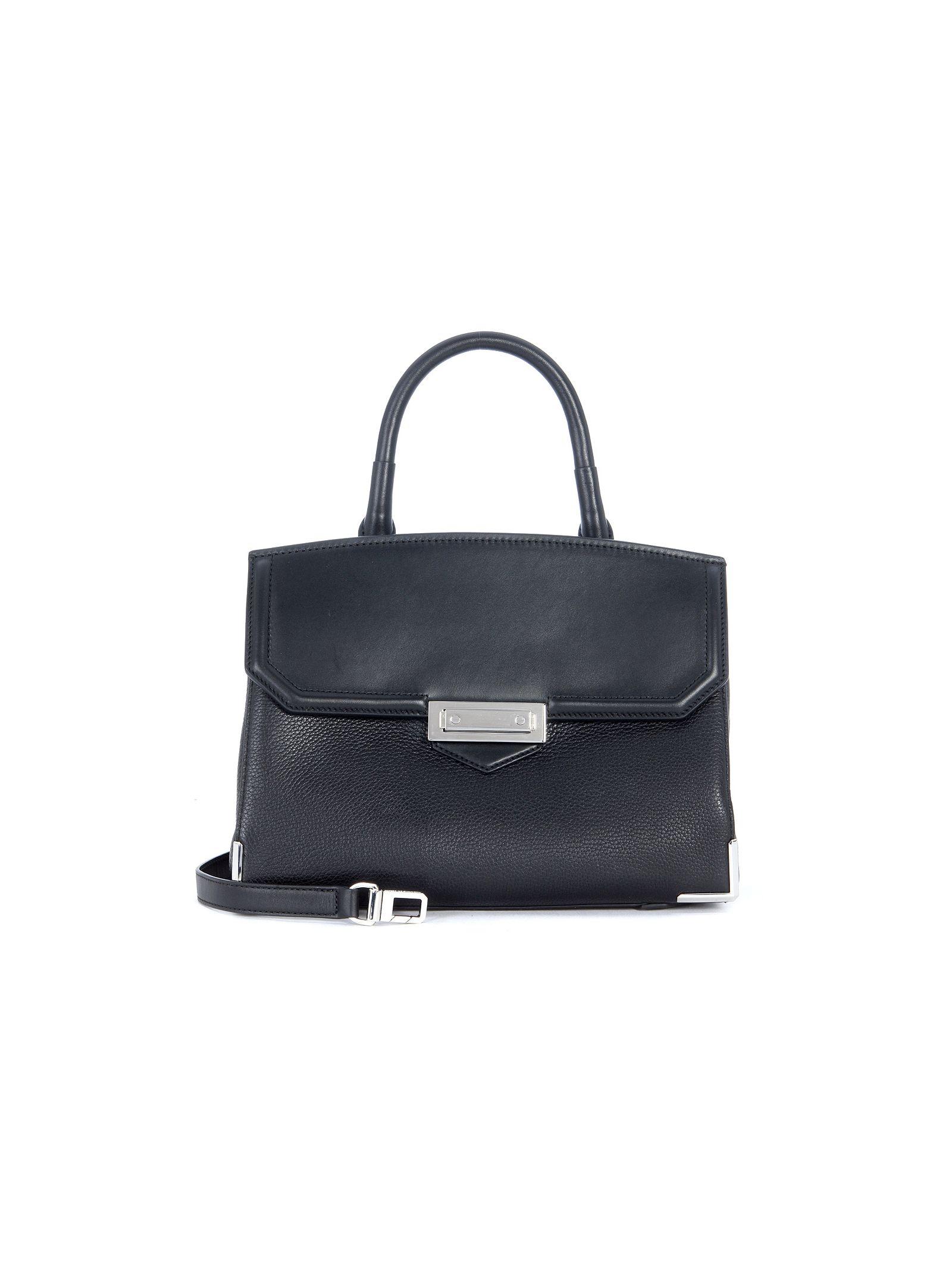 Alexander Wang Marion Large Black Leather Handbag