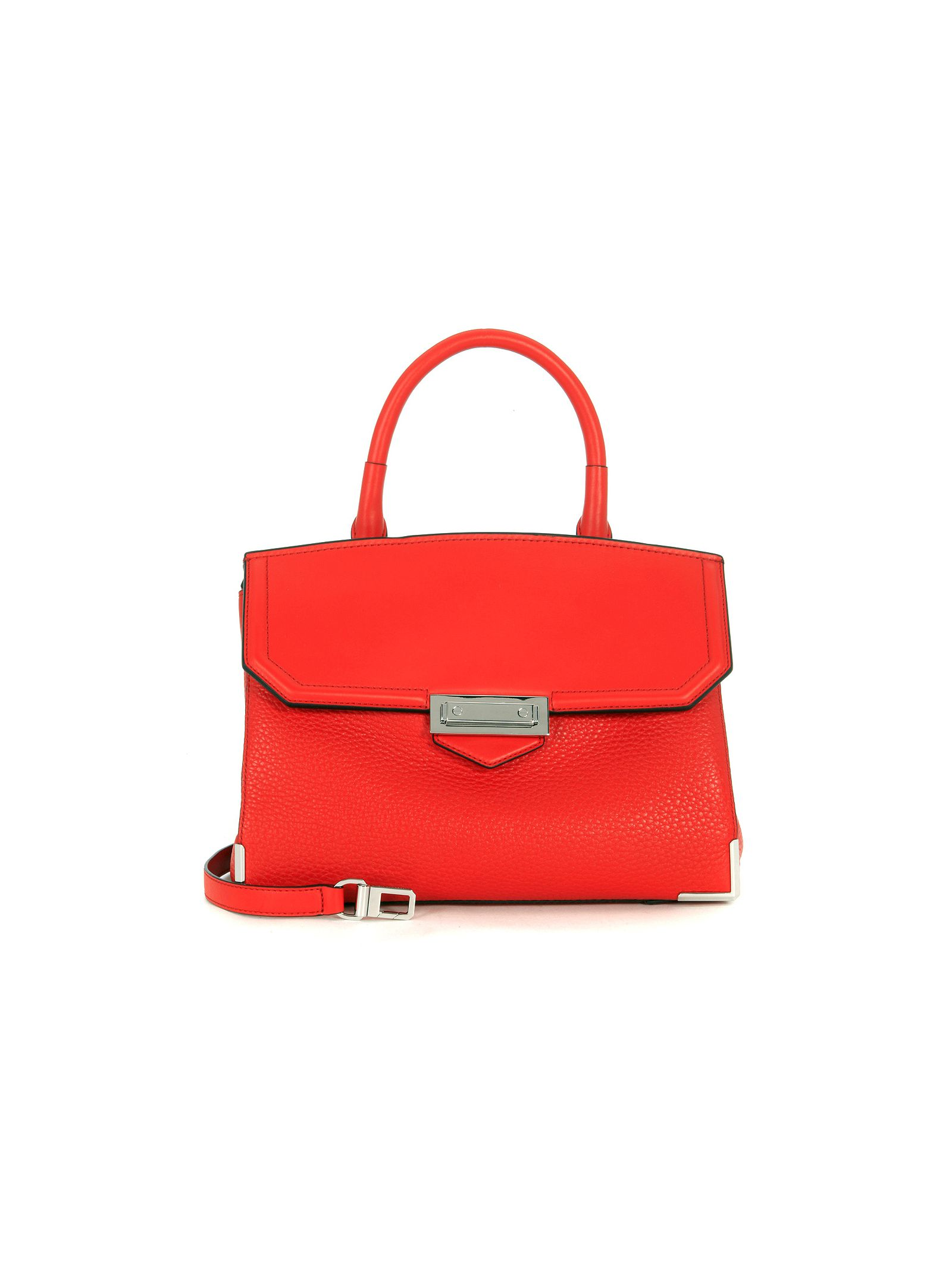 Alexander Wang Marion Large Red Leather Handbag