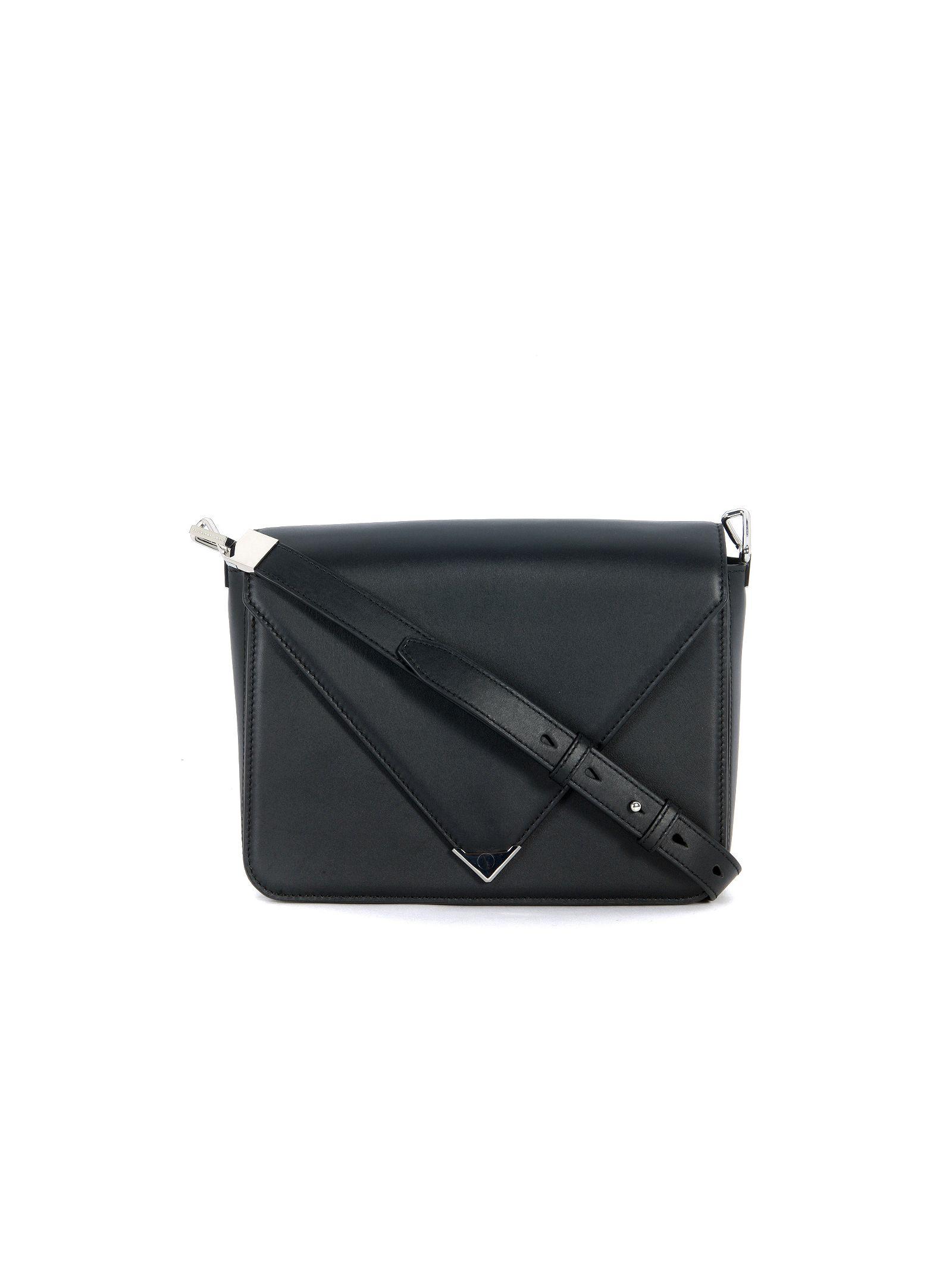 Alexander Wang Prisma Black Leather Shoulder Bag