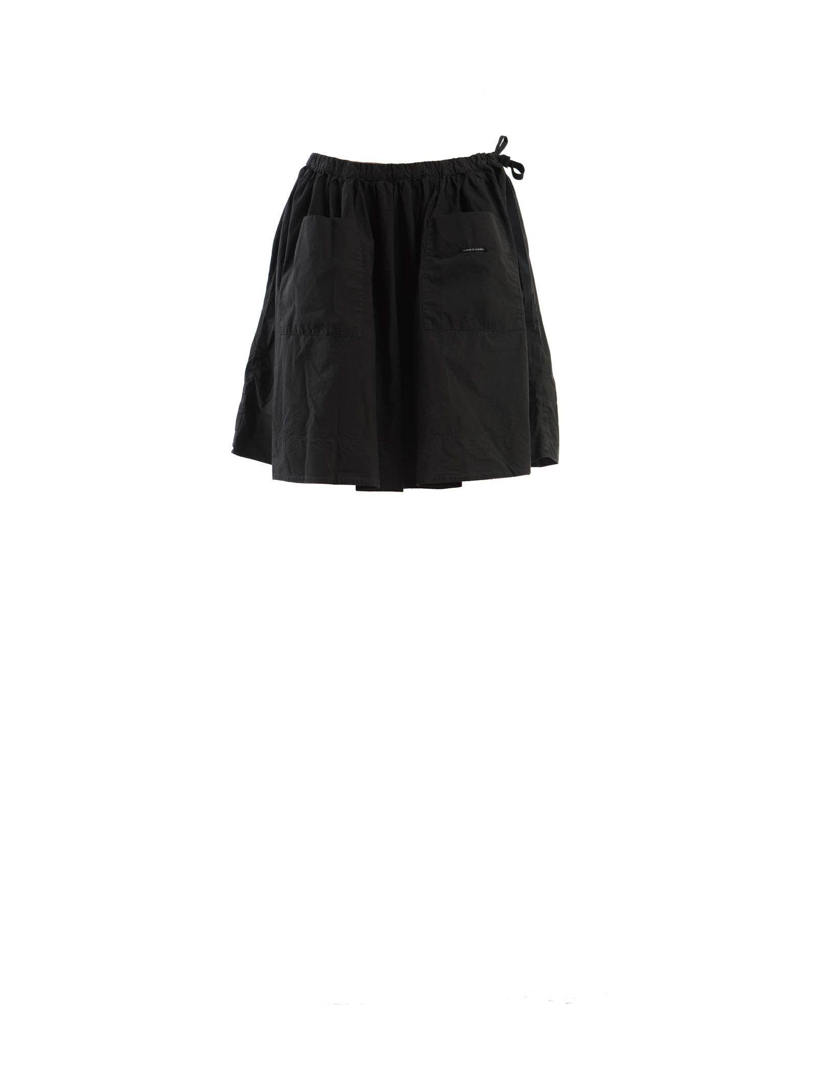 Album Di Famiglia Short Cotton Skirt