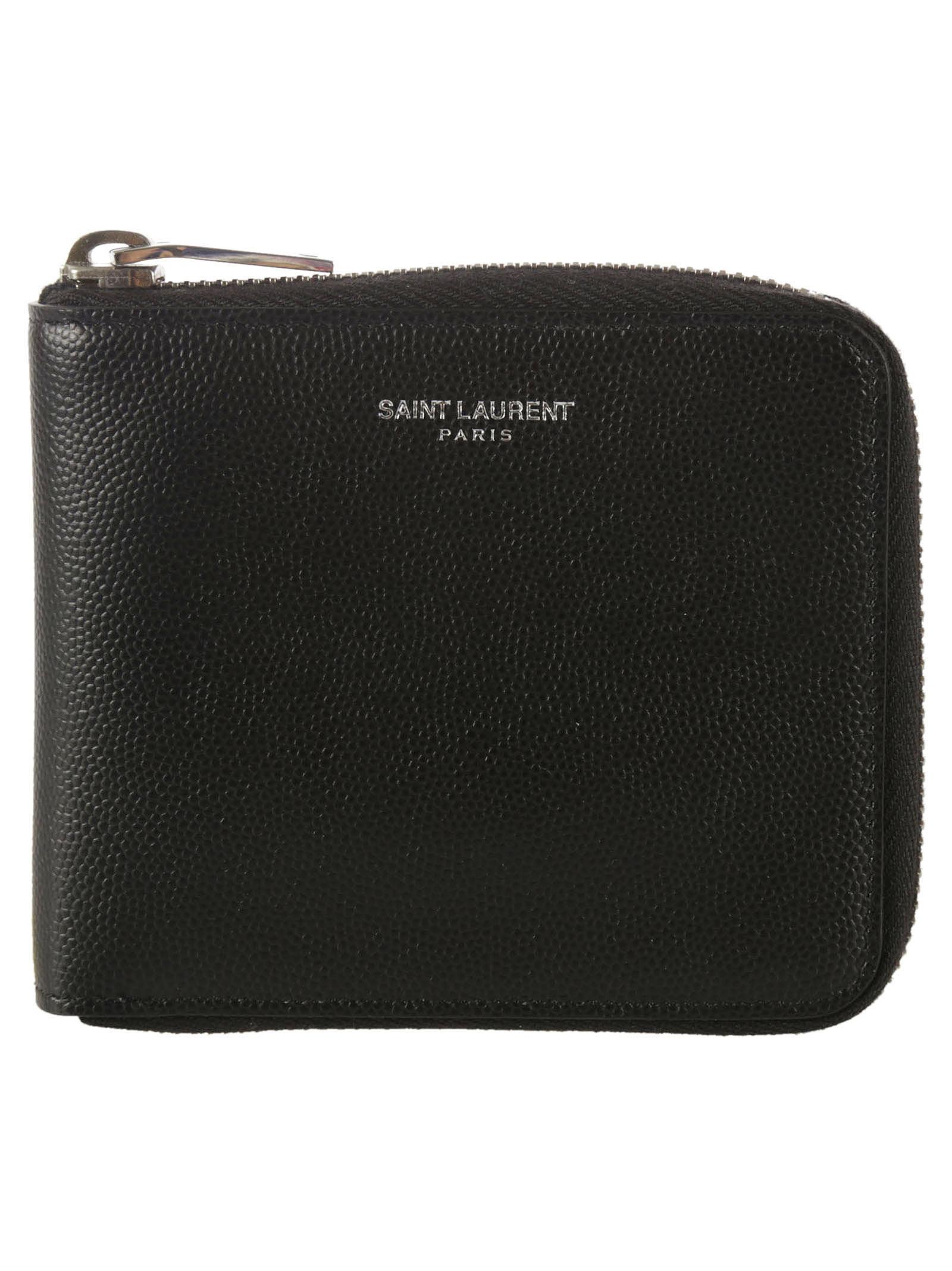 Saint Laurent Zip Card Holder