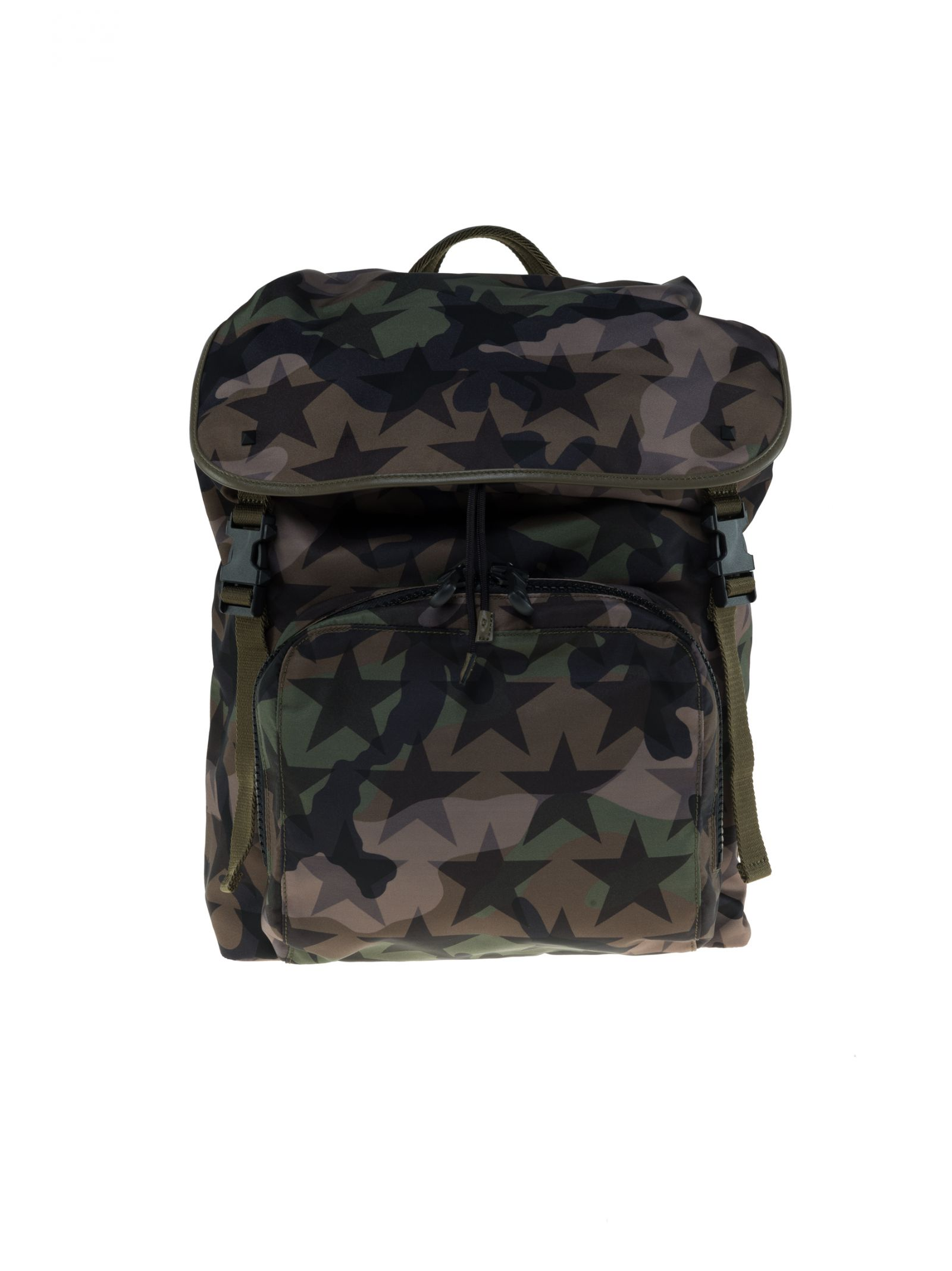 Valentino Military Backpack