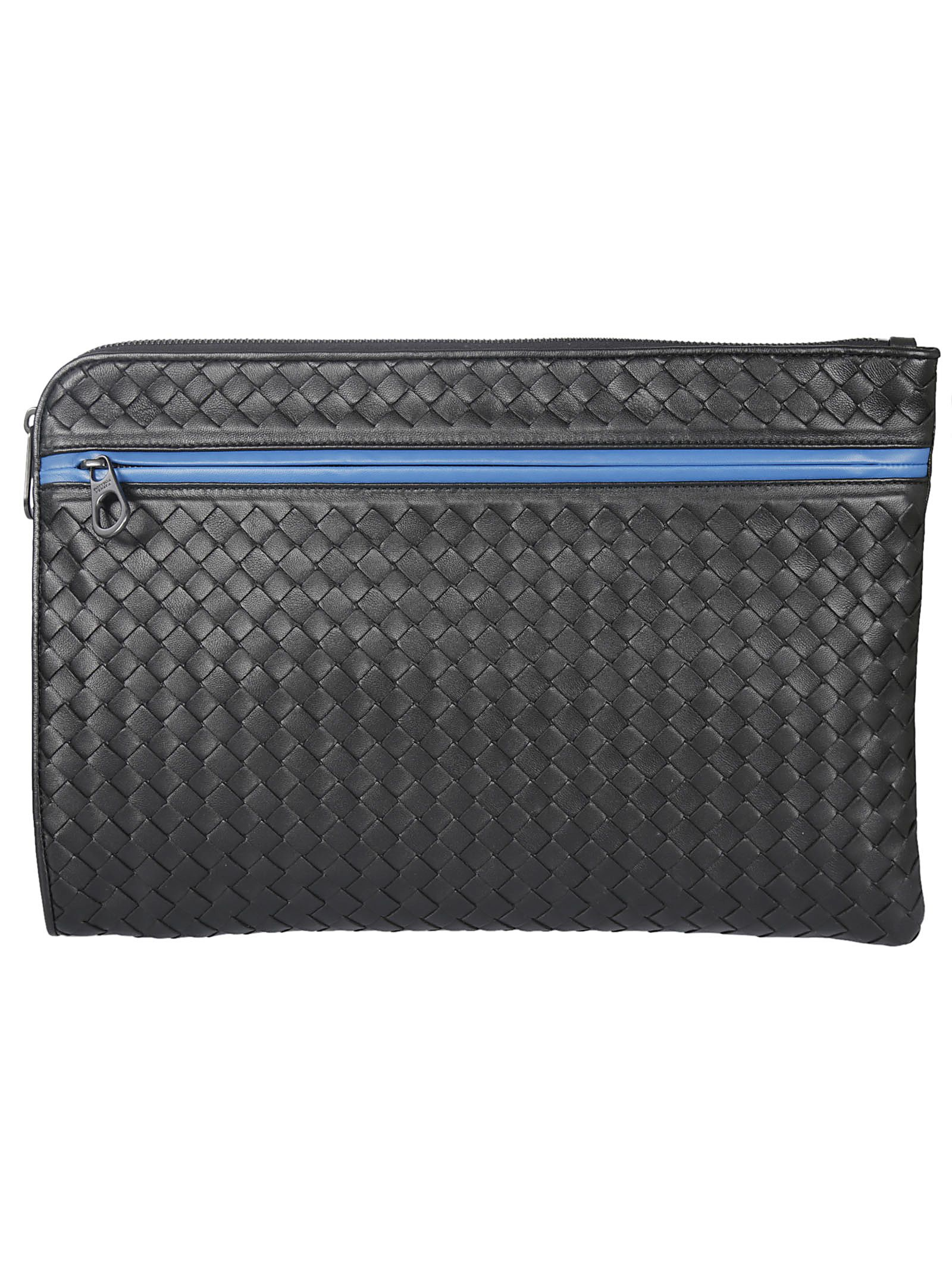 Bottega Veneta Two Zipped Pocket Clutch