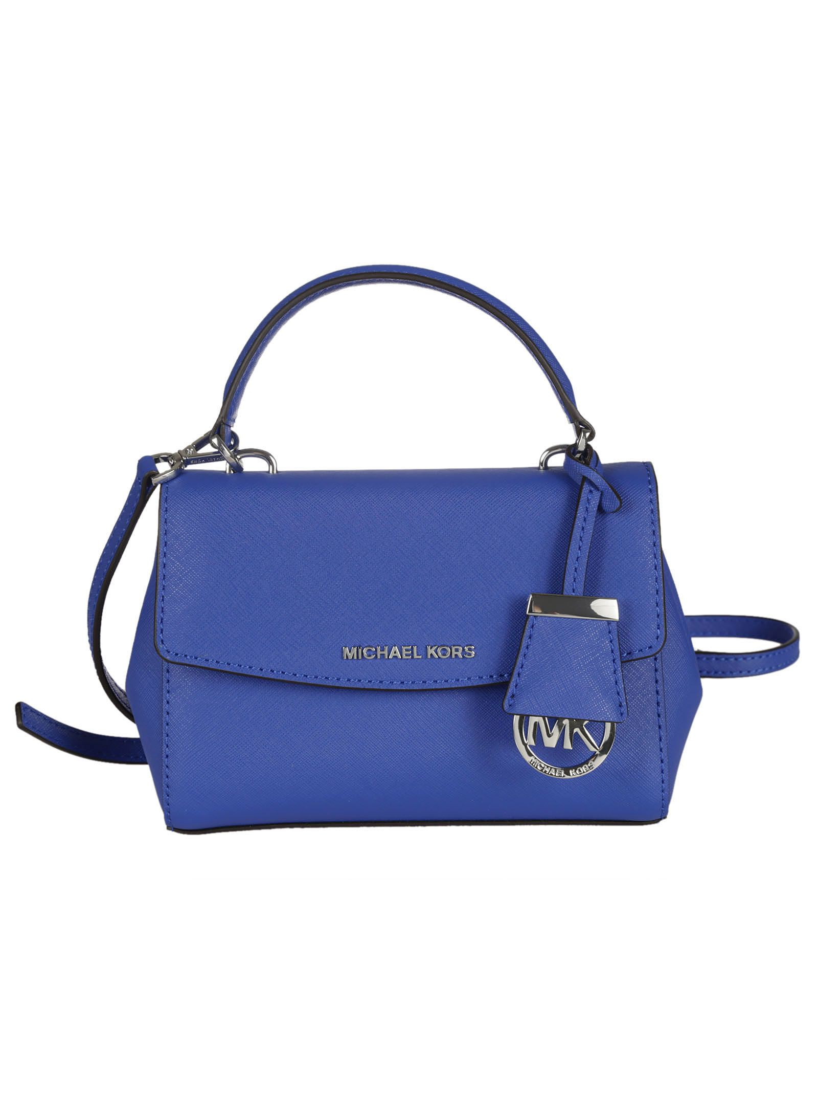 michael kors female 201920 electric blue ava extrasmall crossbody