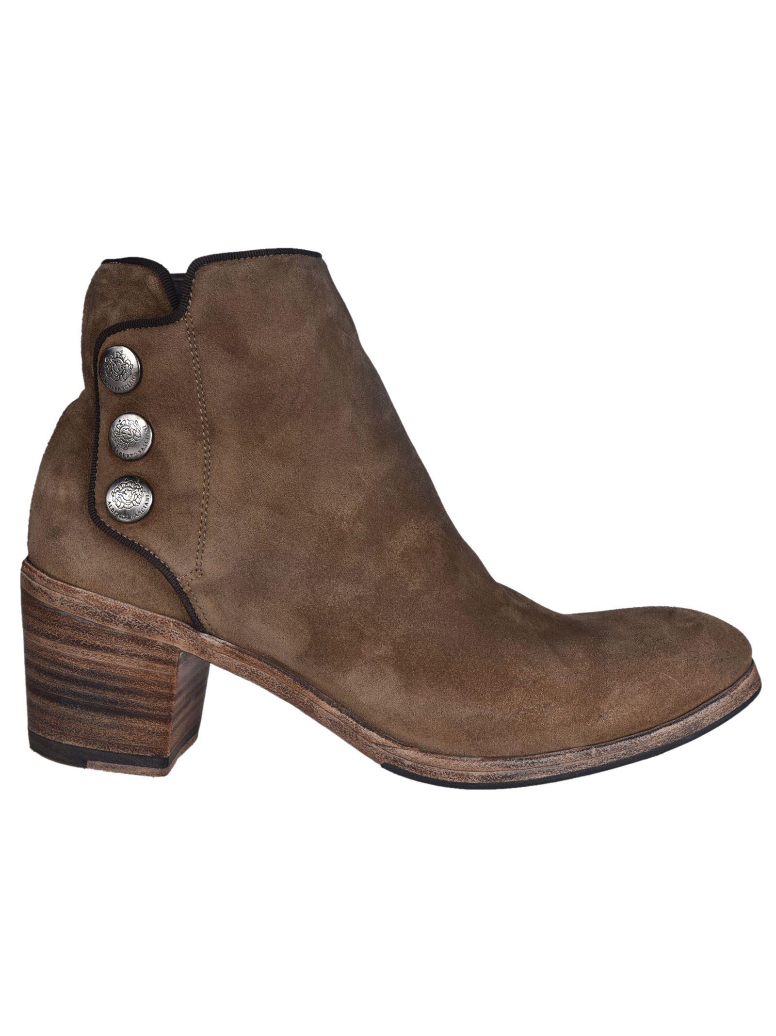 Alberto Fasciani 'sveva' Buttoned Ankle Boots