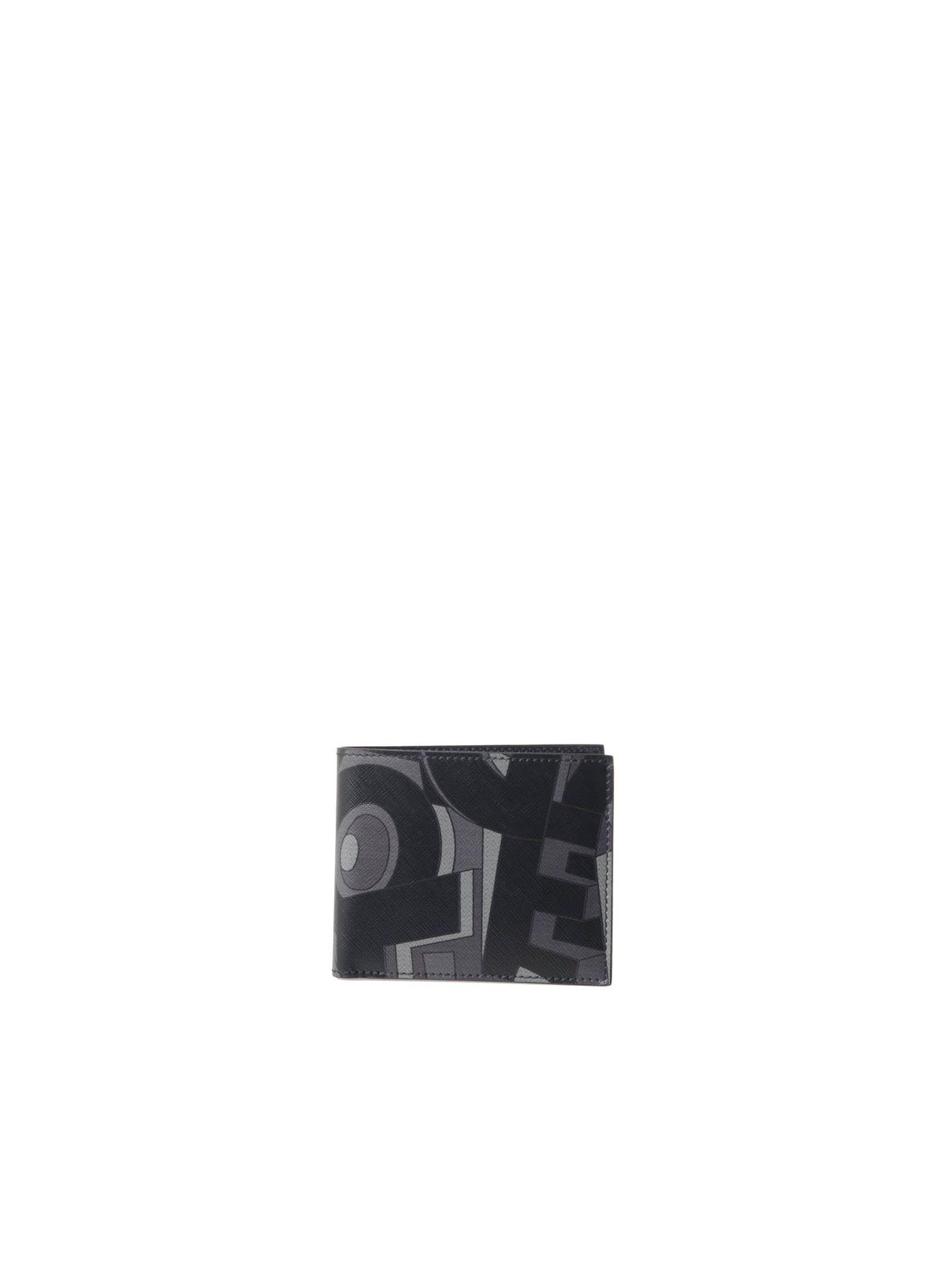Salvatore Ferragamo Printed Leather Wallet
