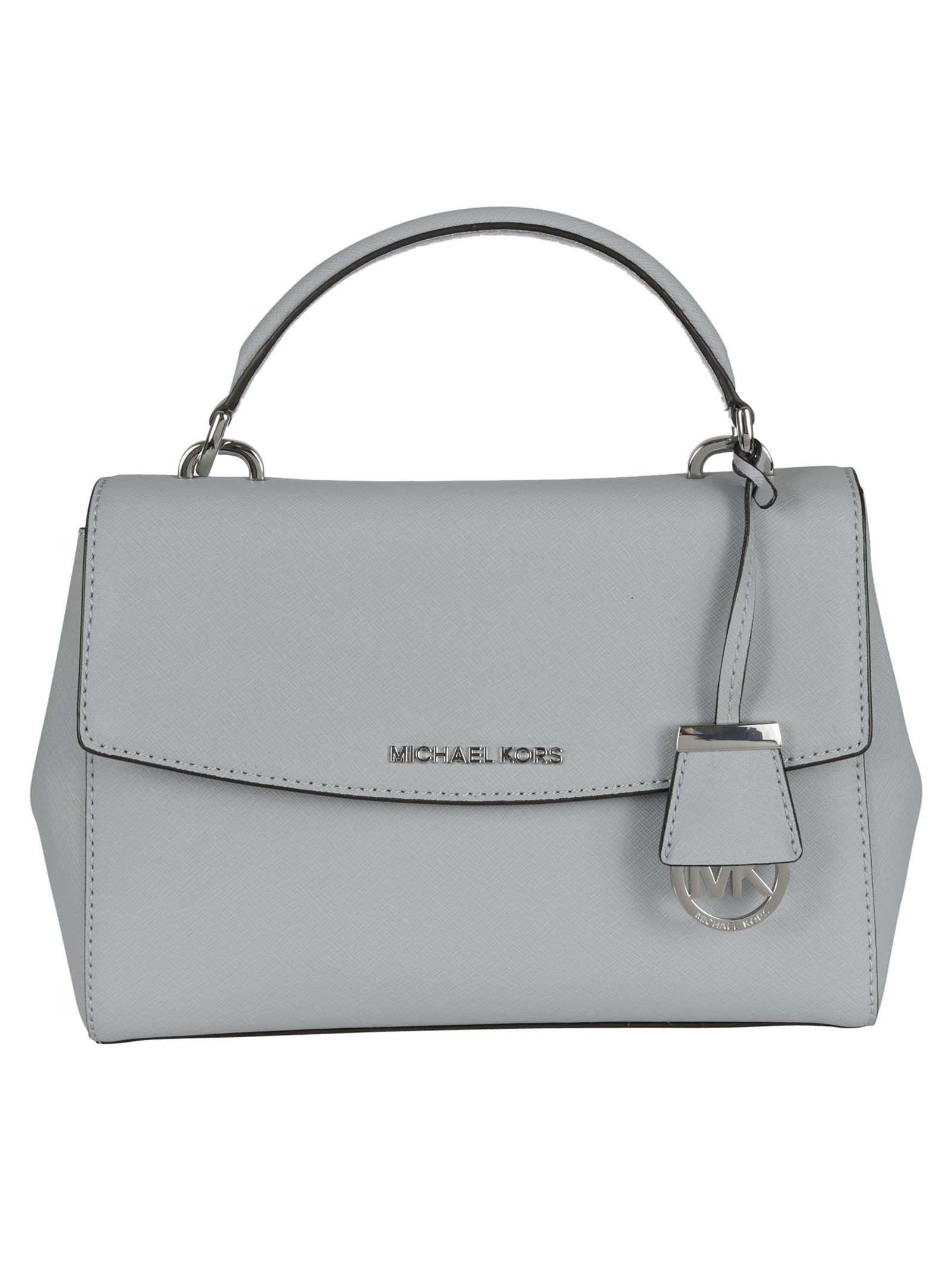 michael kors female 201920 dusty blue ava small crossbody