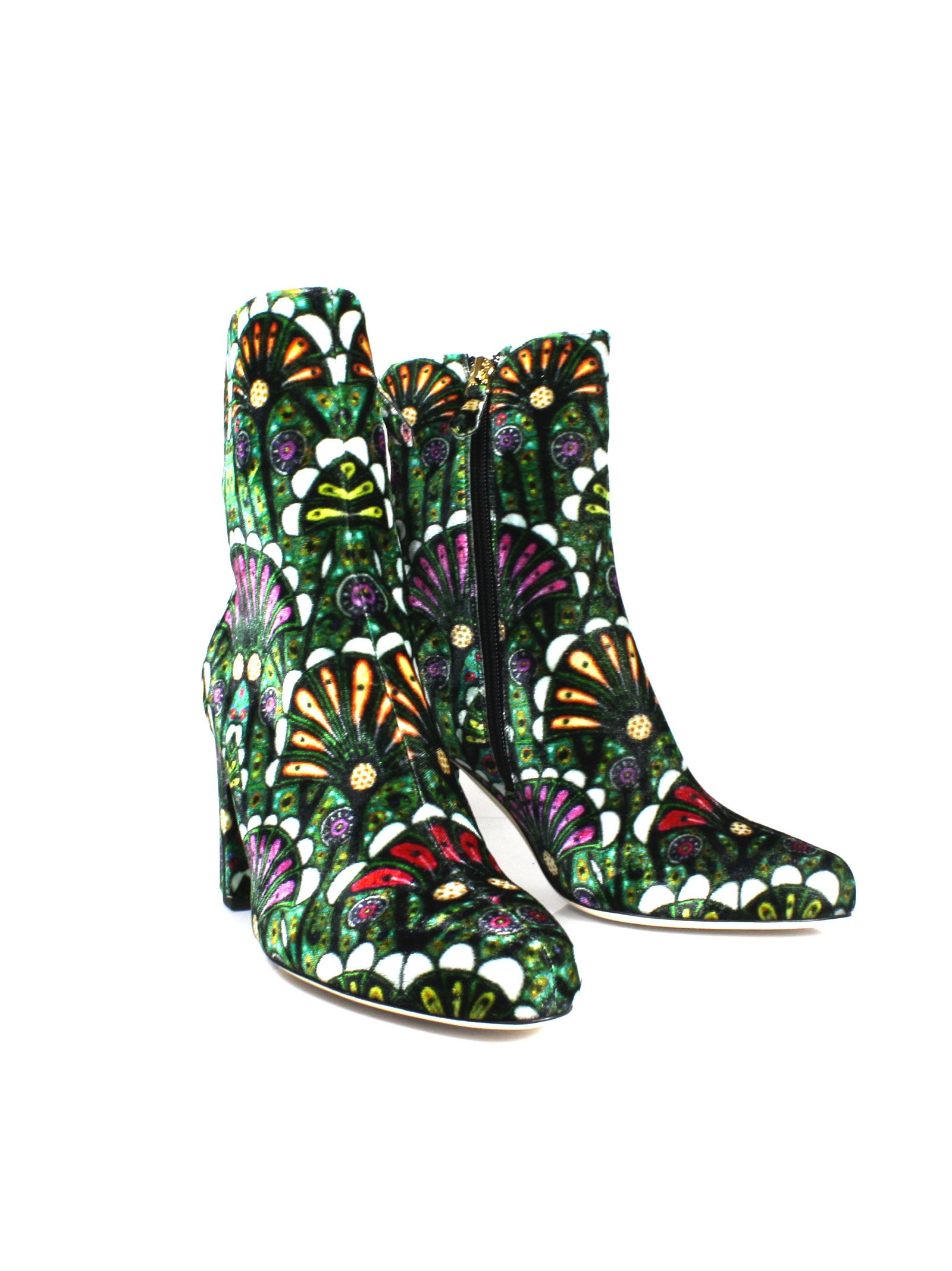 """Multicolor """"talise 80"""" Ankle Boots - Brian Atwood - Circus"""