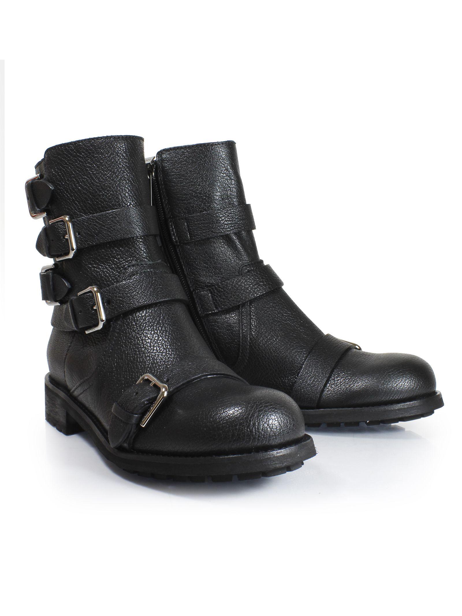 """Black """"dawson Flat"""" Boots"""