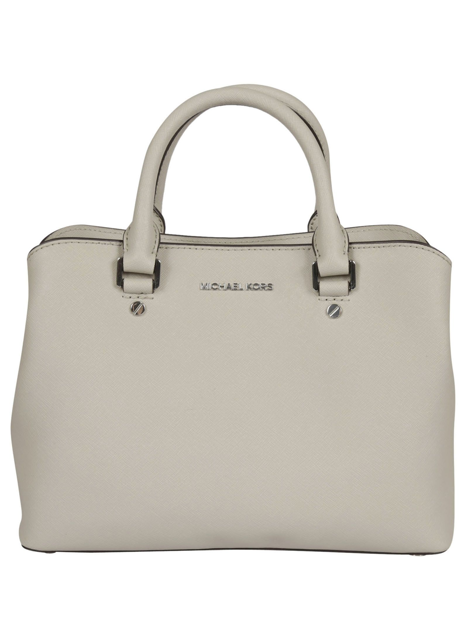 michael kors female  cement savannah medium satchel