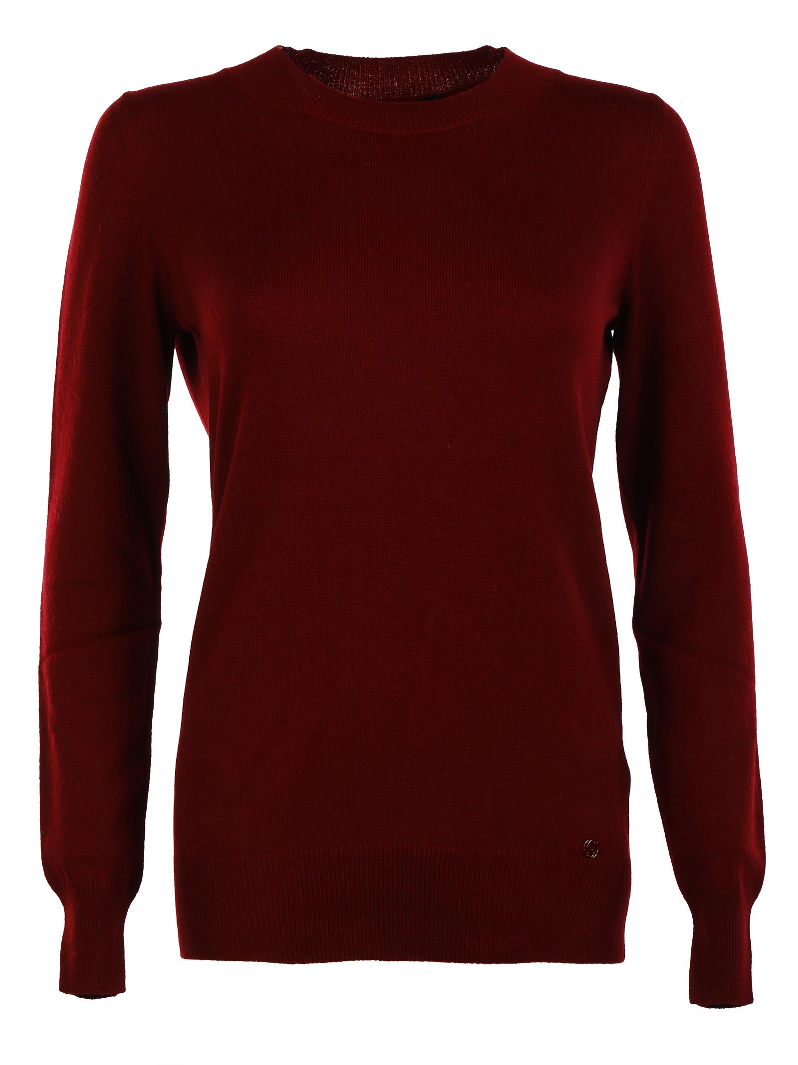 gucci female  gucci cashmere crewneck sweater