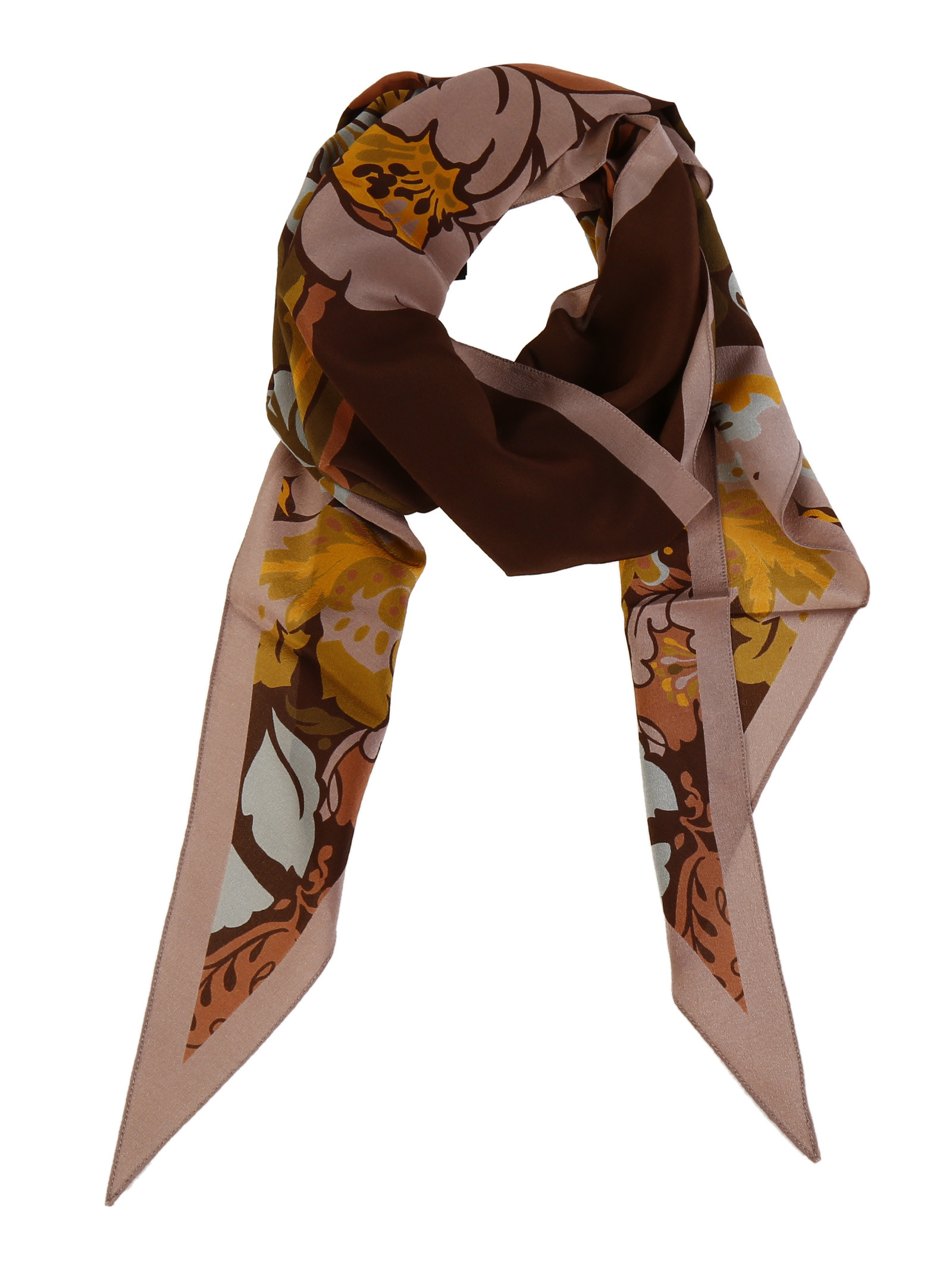 gucci male 243279 gucci silk flower print scarf