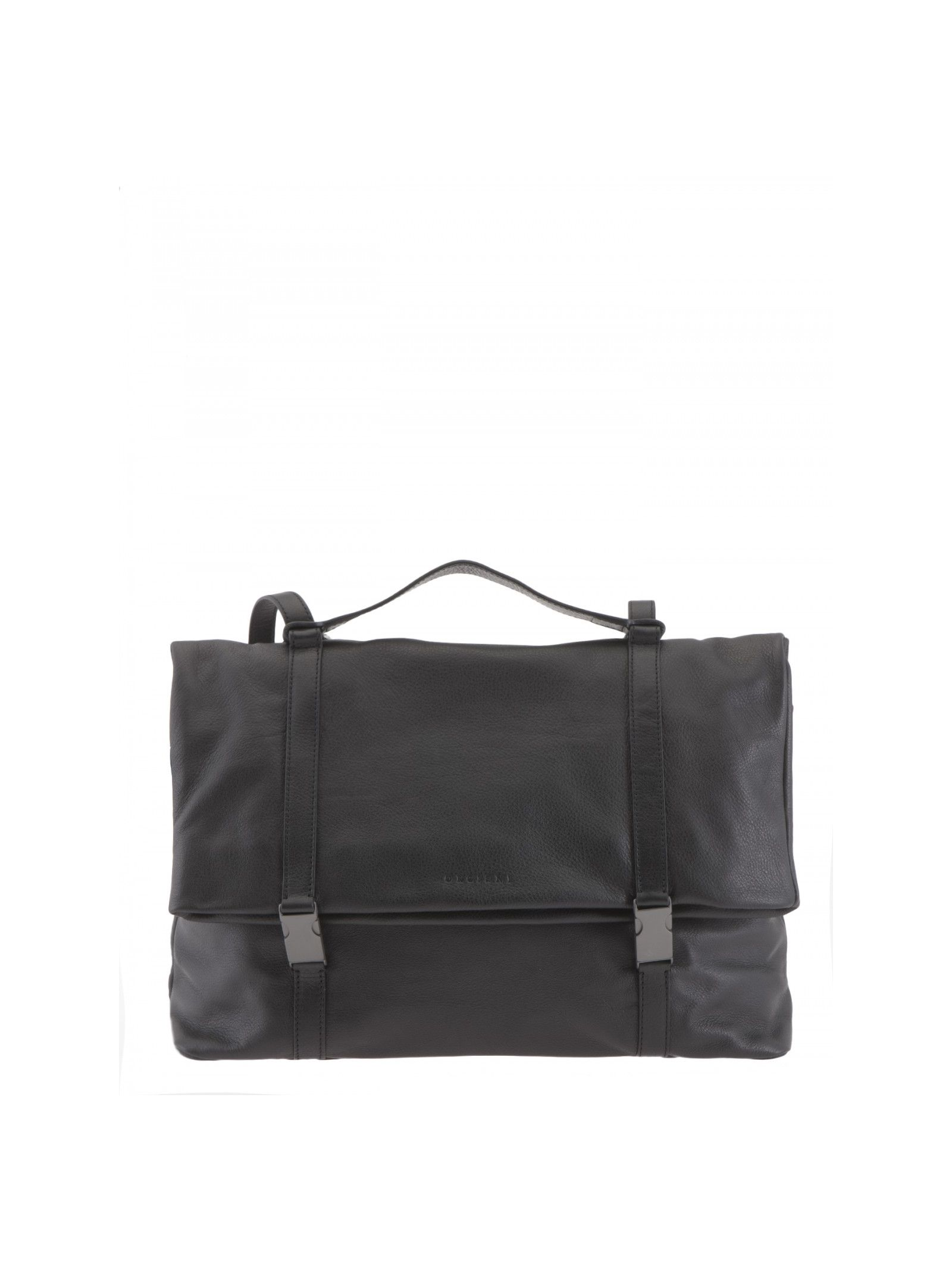 Orciani Grained Leather Bag