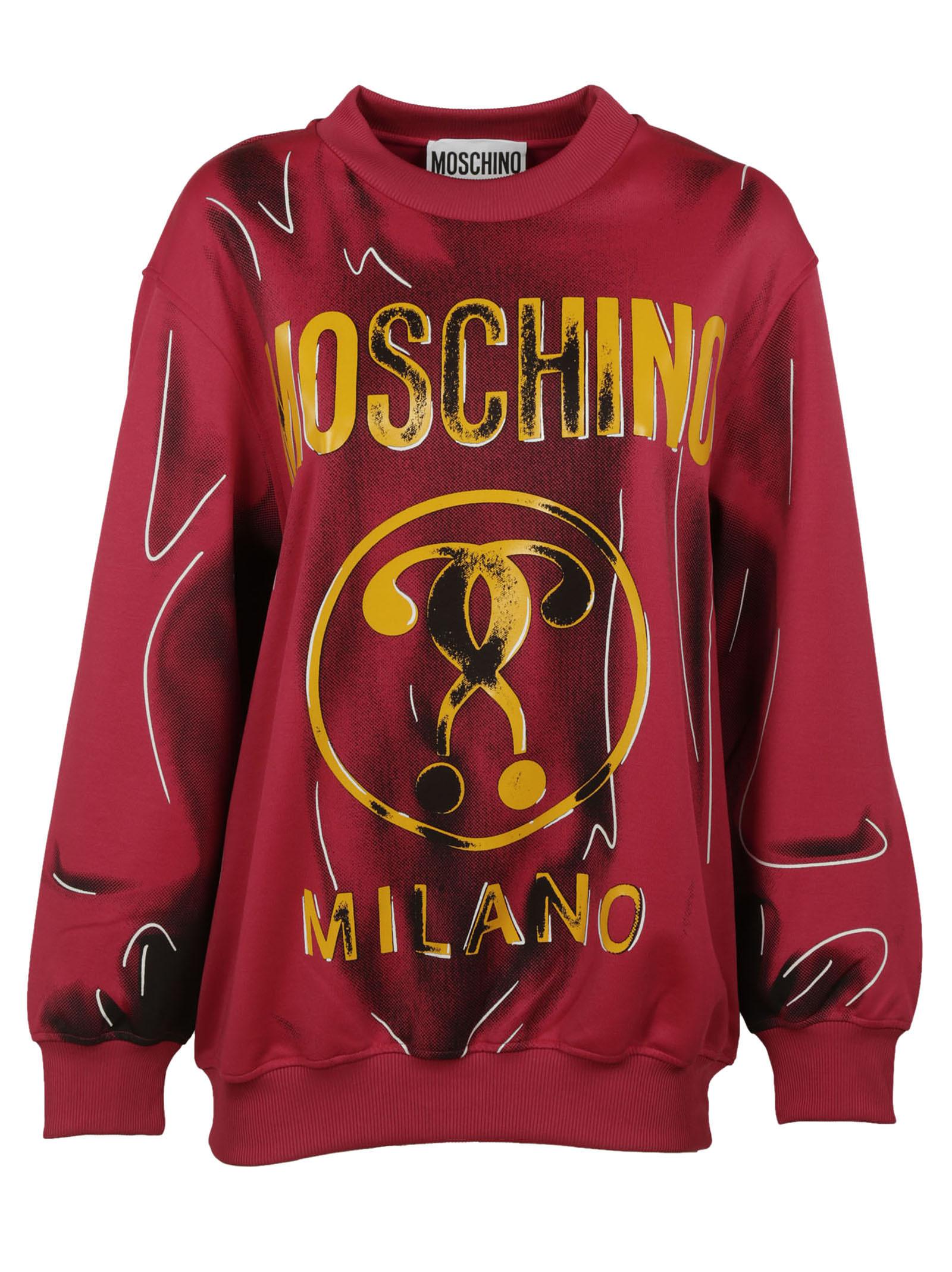 Moschino Printed Sweatshirt - Moschino - Boutique