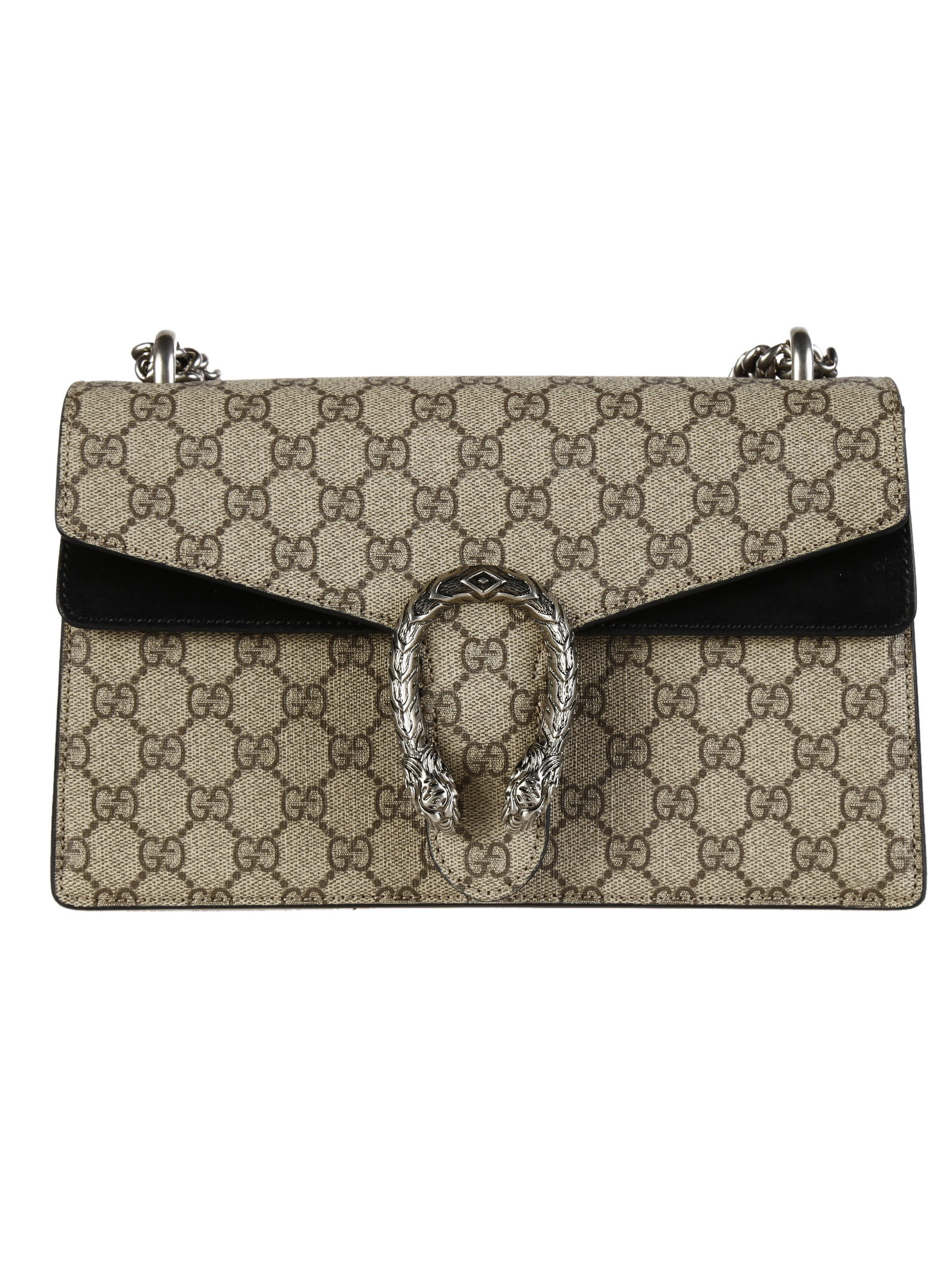 gucci gucci dionysus gg supreme canvas small shoulder