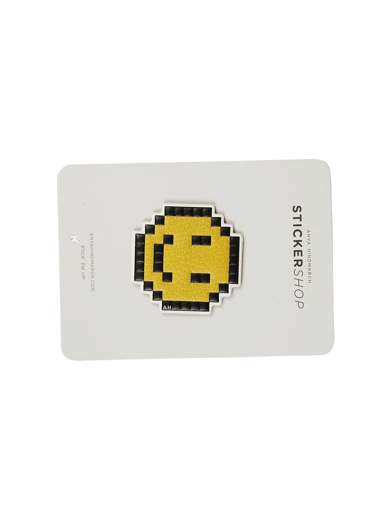 Anya Hindmarch Pixel Smiley Leather Sticker