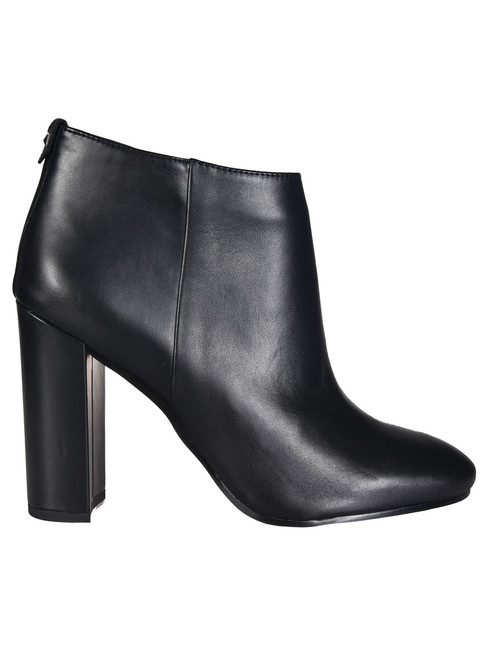 Cambell Ankle Boots from Sam Edelman: Black Cambell Ankle Boots with almond toe, side zip closure and block heel