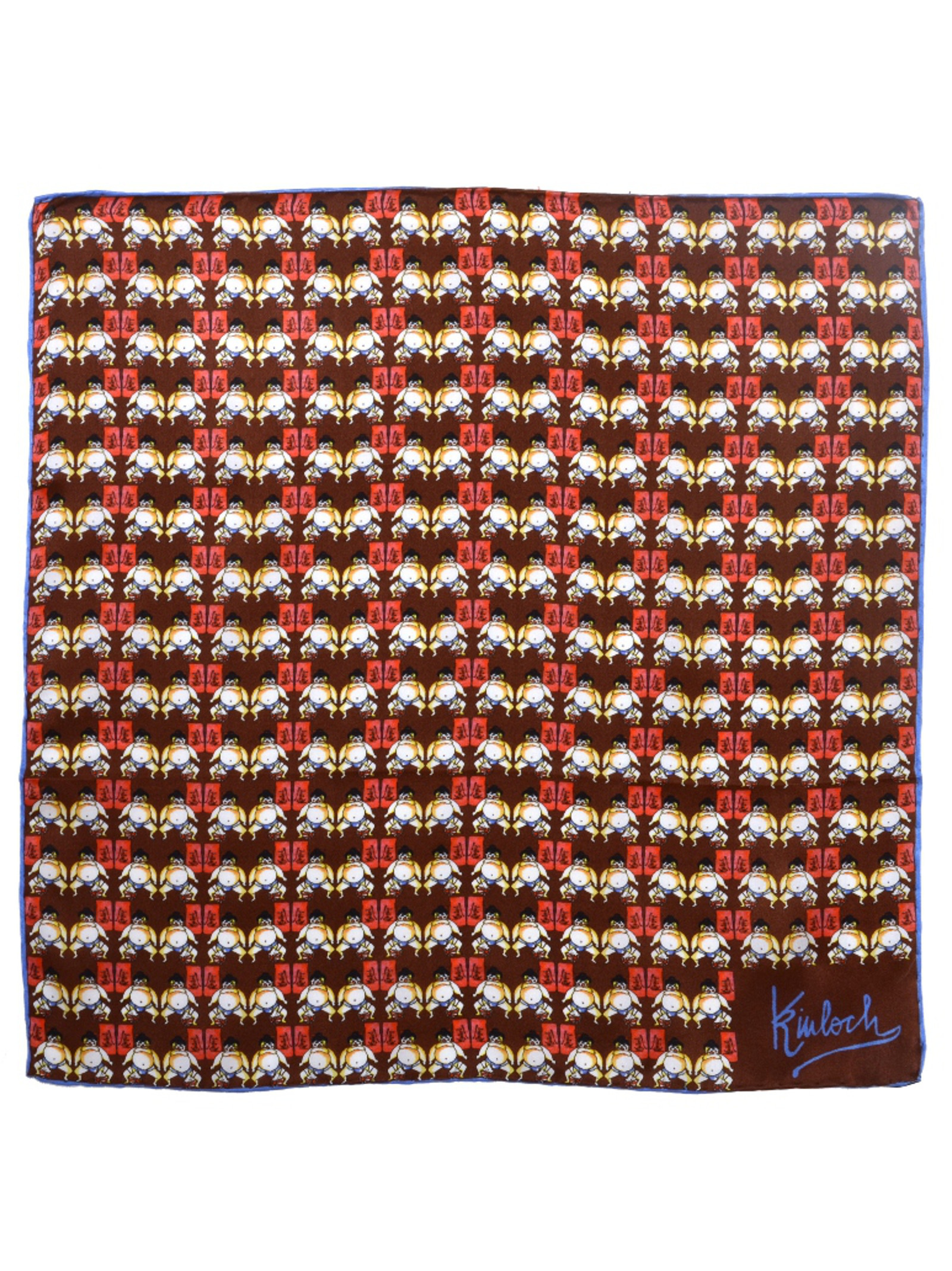 Kinloch Sumo Silk Pocket Square