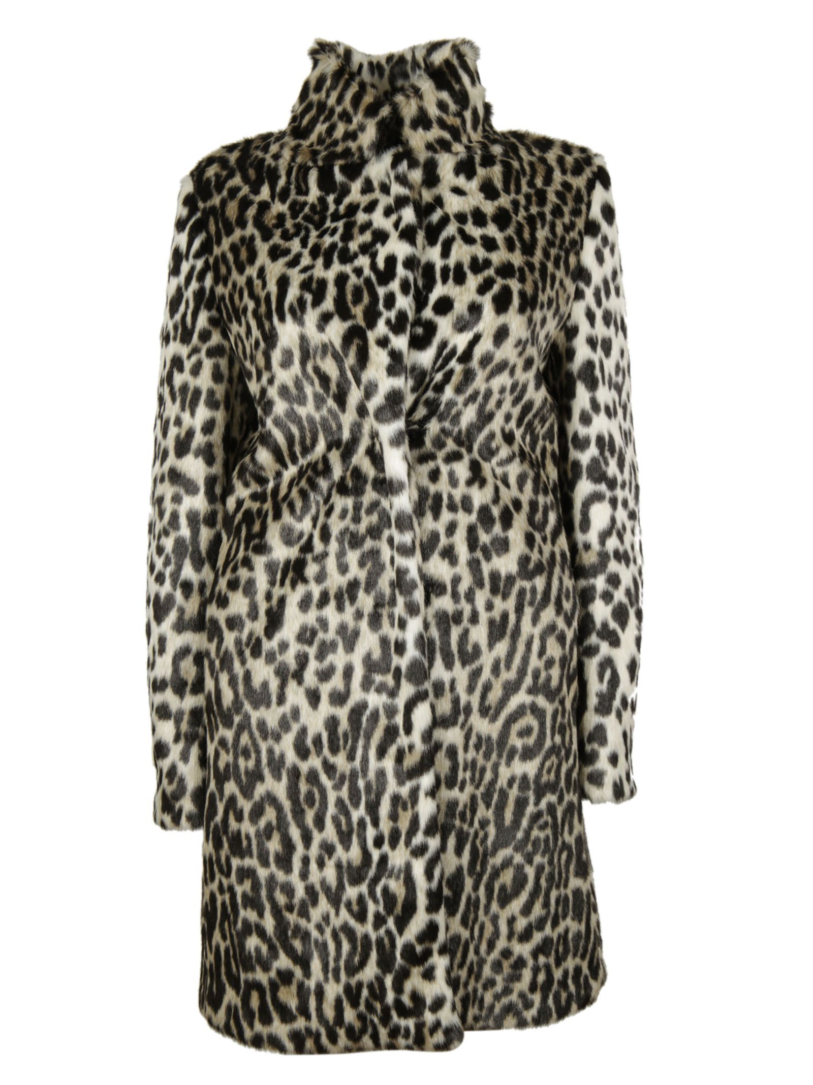 Natural Leopard Alter Fur Coat - Stella McCartney - Circus