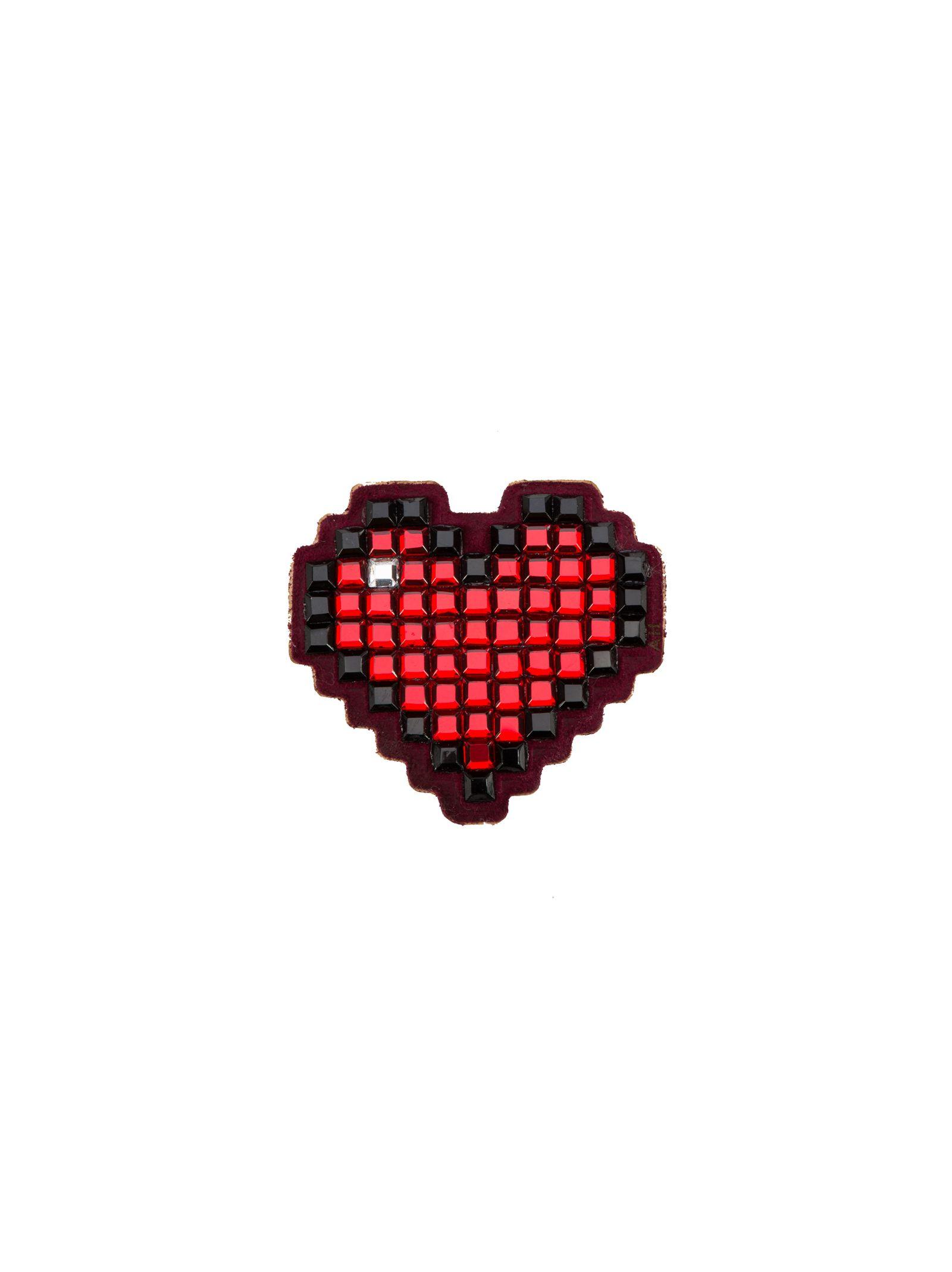 Anya Hindmarch 'heart' Diamante Sticker