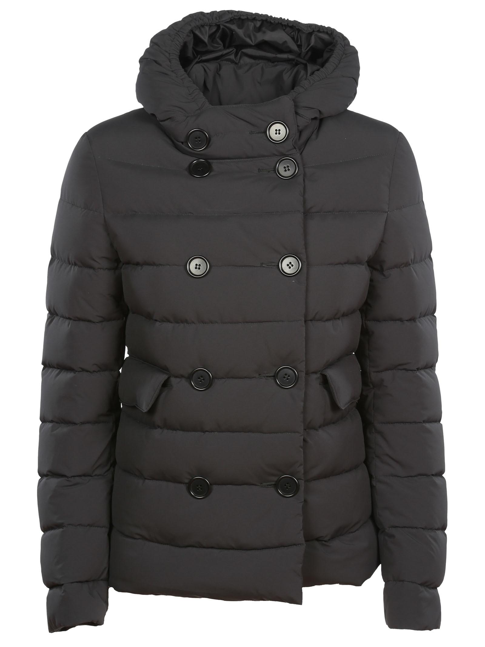 Aspesi Double Breasted Padded Jacket
