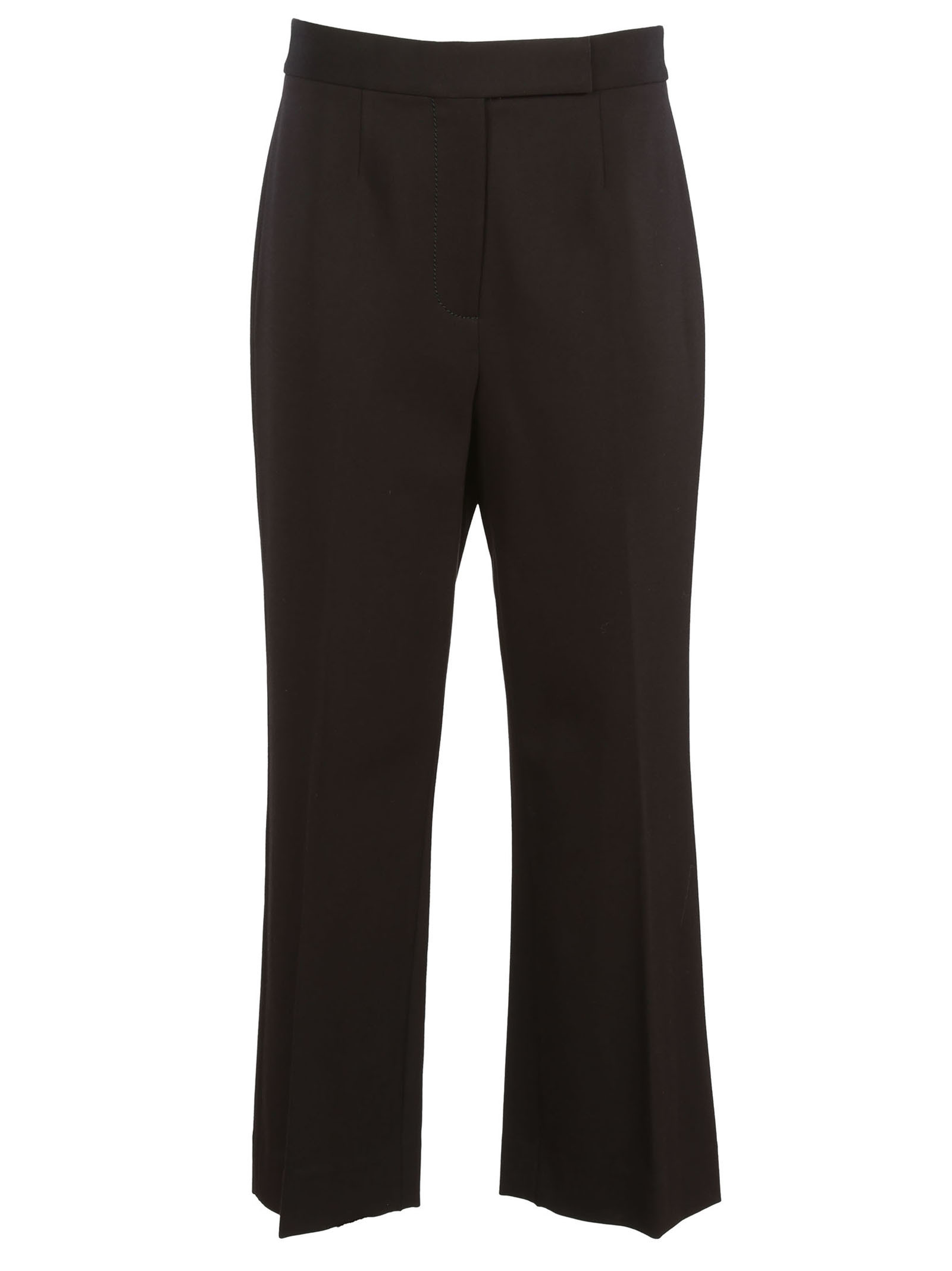 marc jacobs female marc jacobs pleated crop trousers