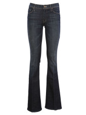 Mother Flared Low-Rise Jeans