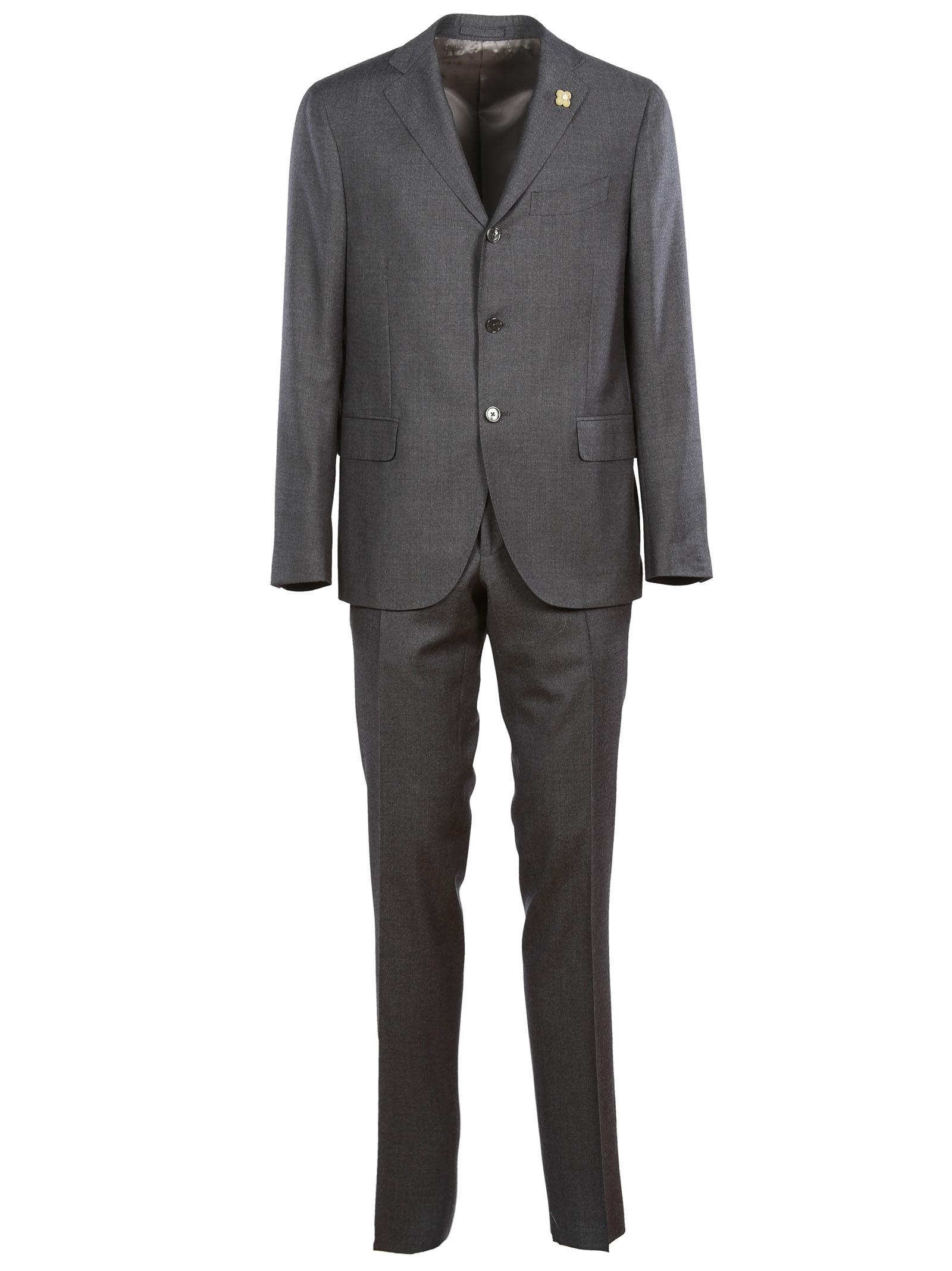 Lardini Classic Wool Suit