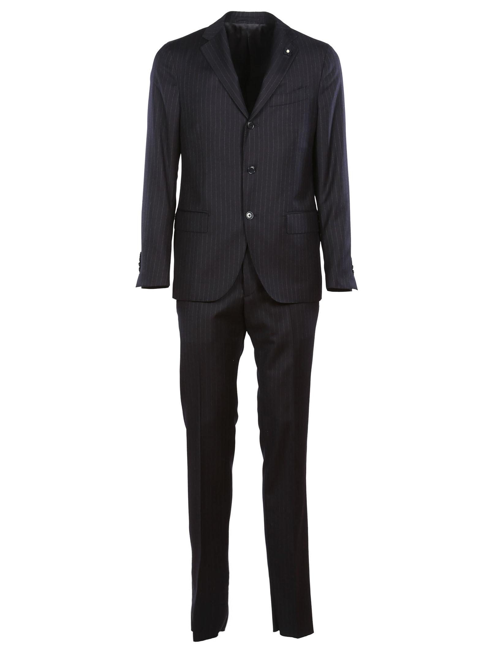 Lardini Stripe Suit