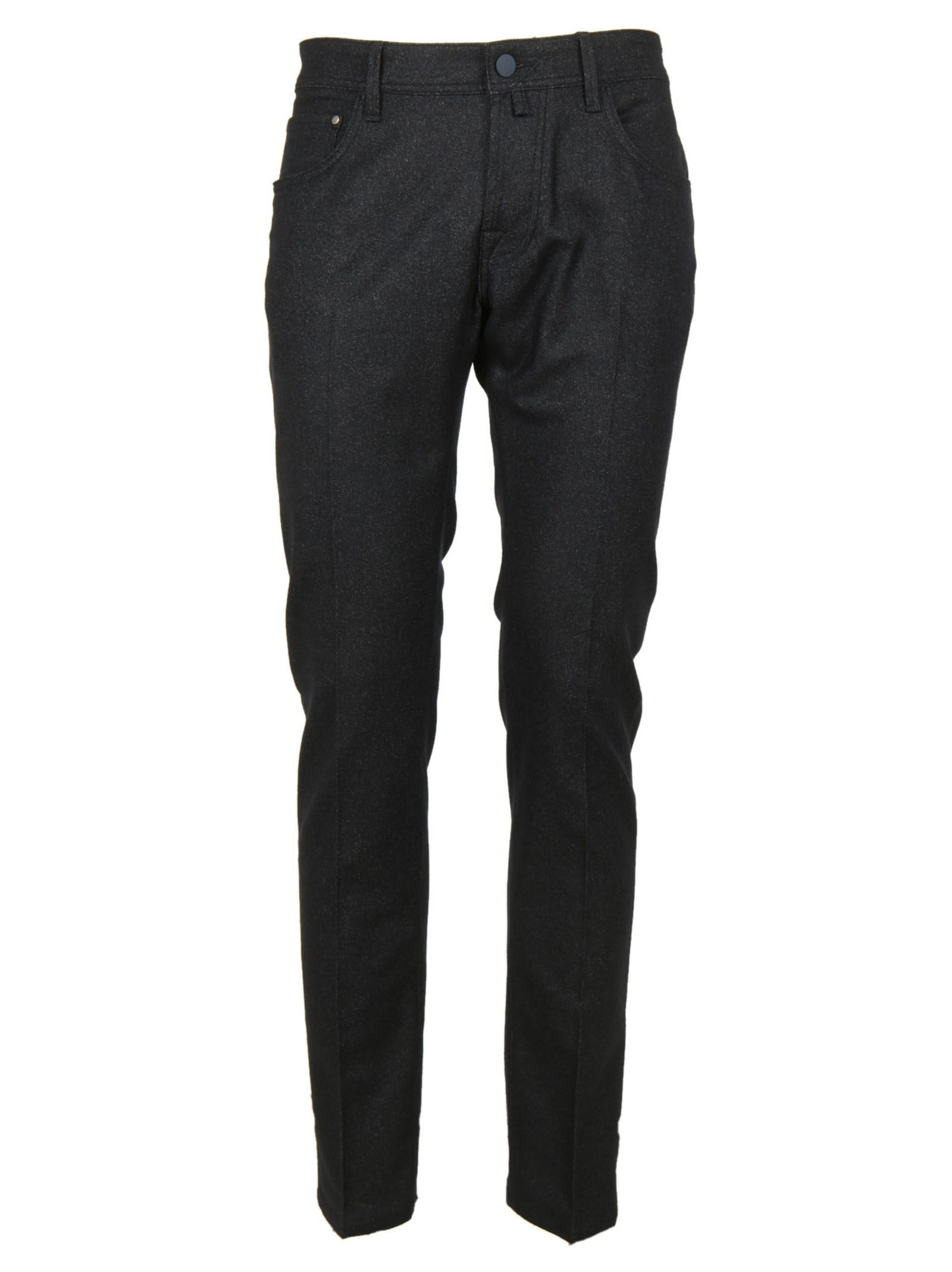 Jacob Cohen Man Trousers Blue Melange