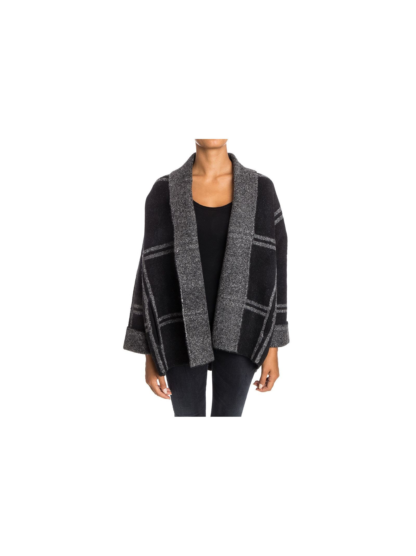 360 Cashmire - Knitted Overcoat - Guineviere