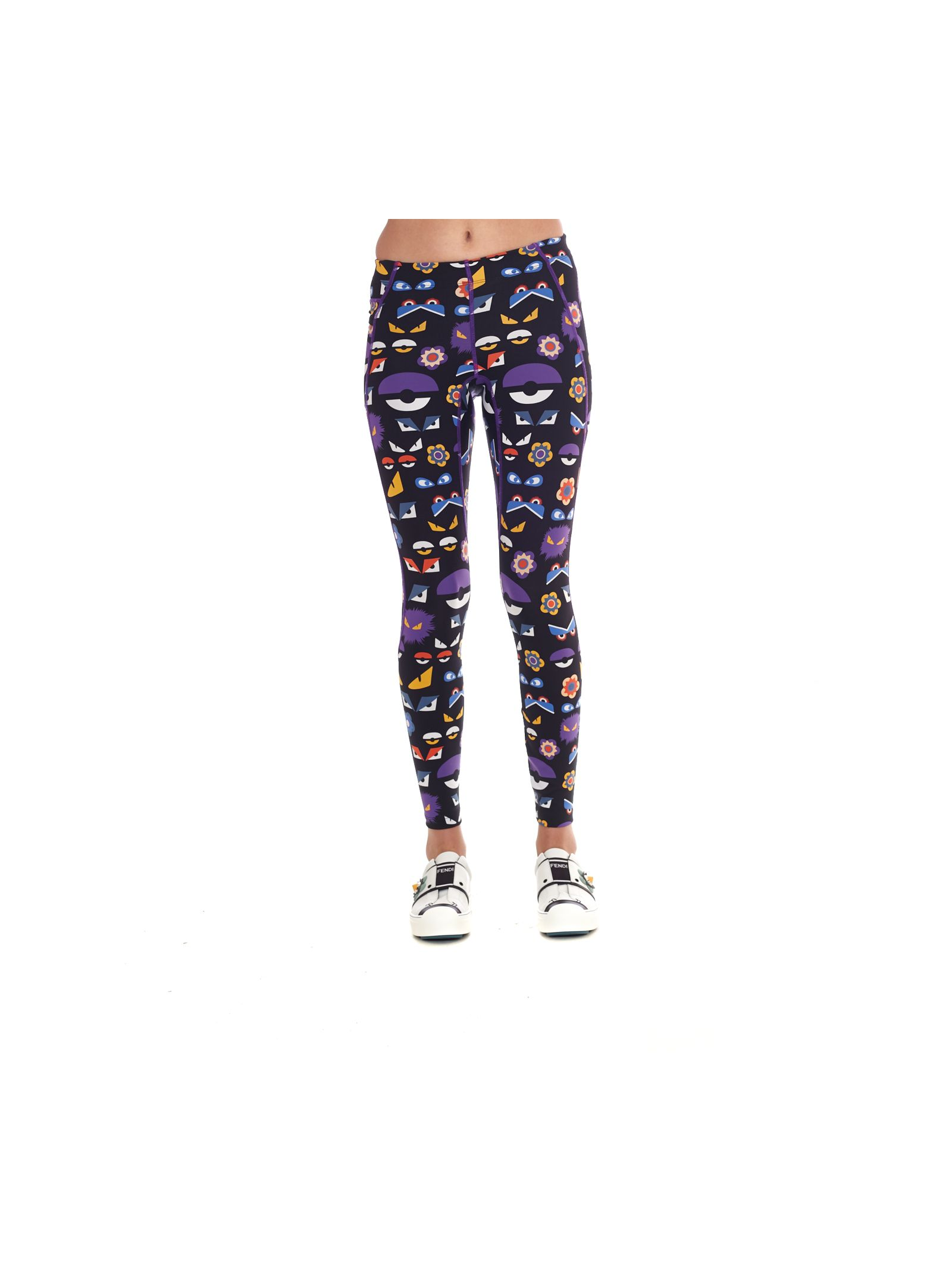 Pantaloni de damă FENDI, tip leggings
