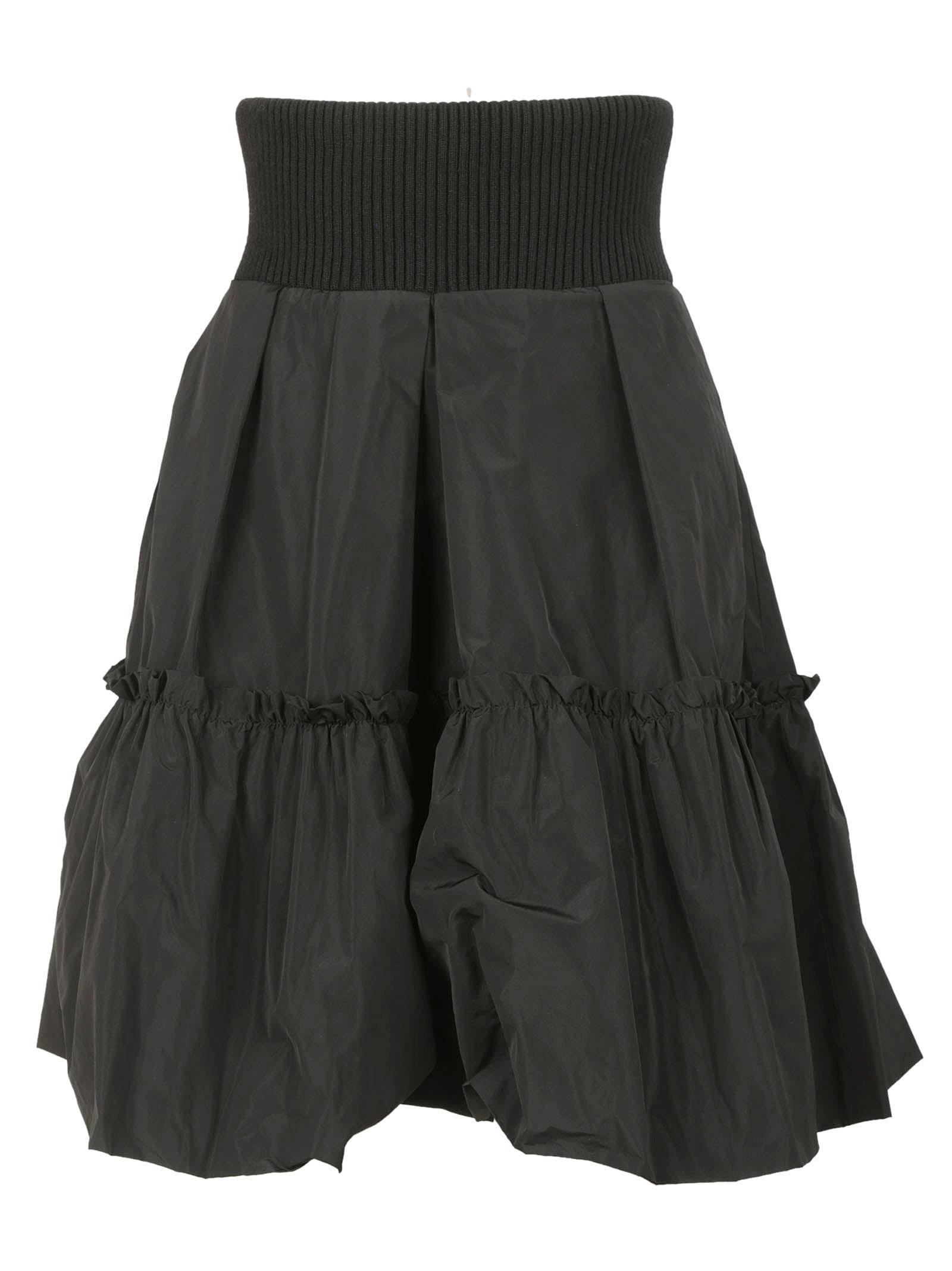 Moncler Ruffled A-line Skirt