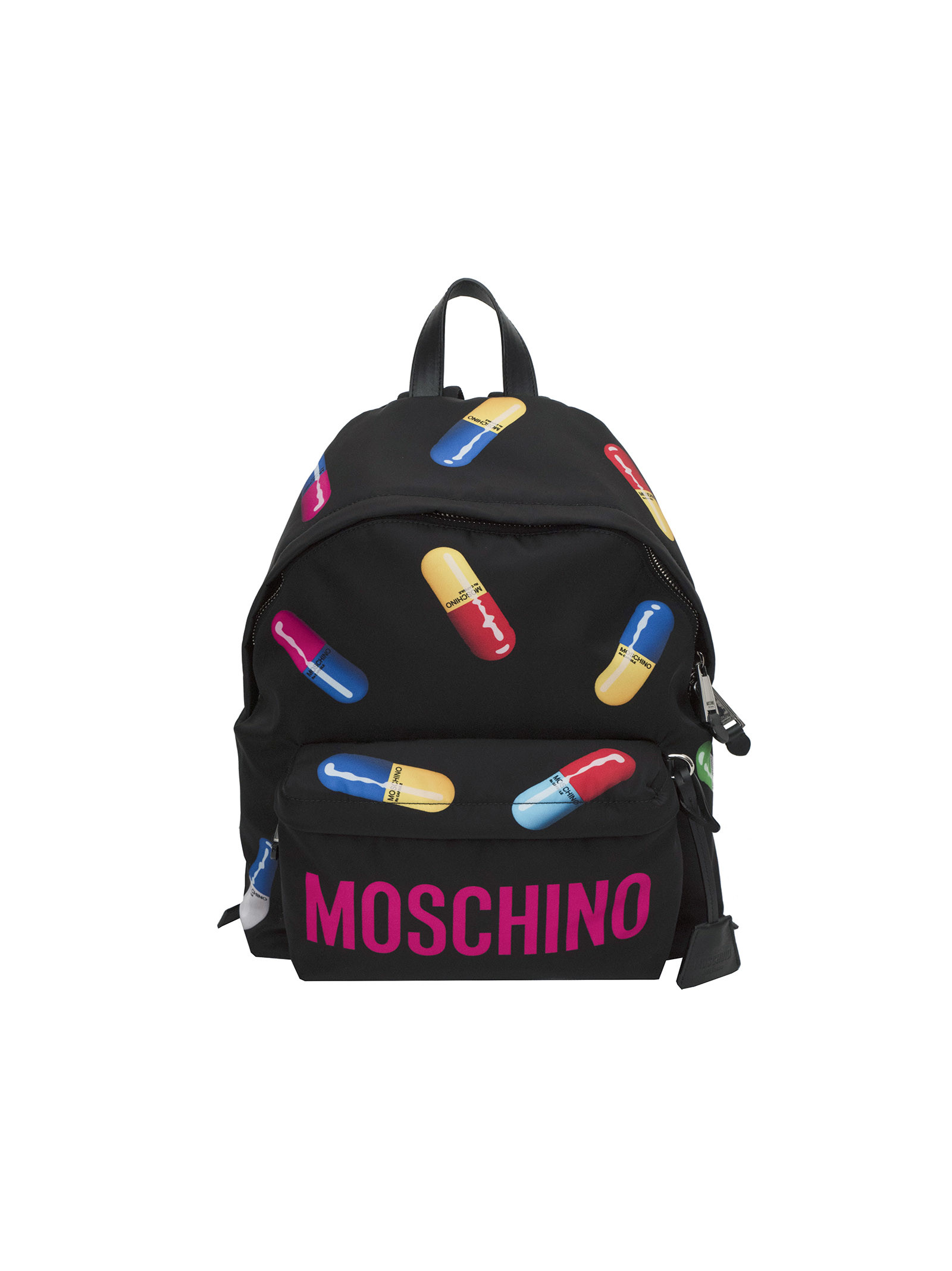 Moschino Pill Print Backpack