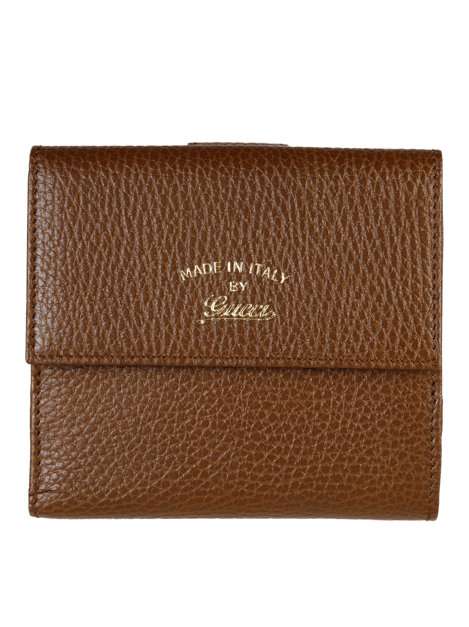 gucci gucci leather wallet 368233cao0g2548 womens