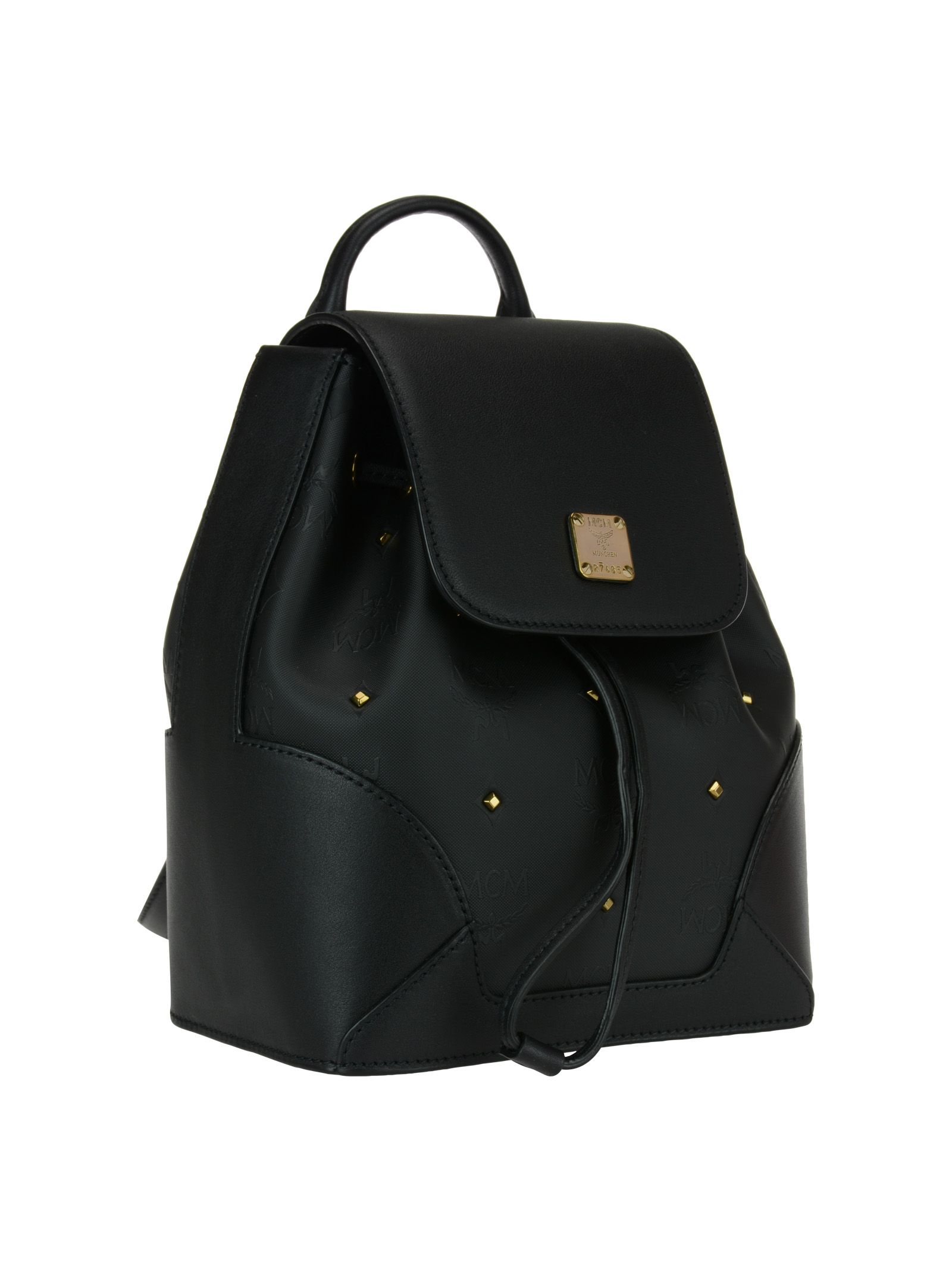 Mcm Claudia Studs Backpack