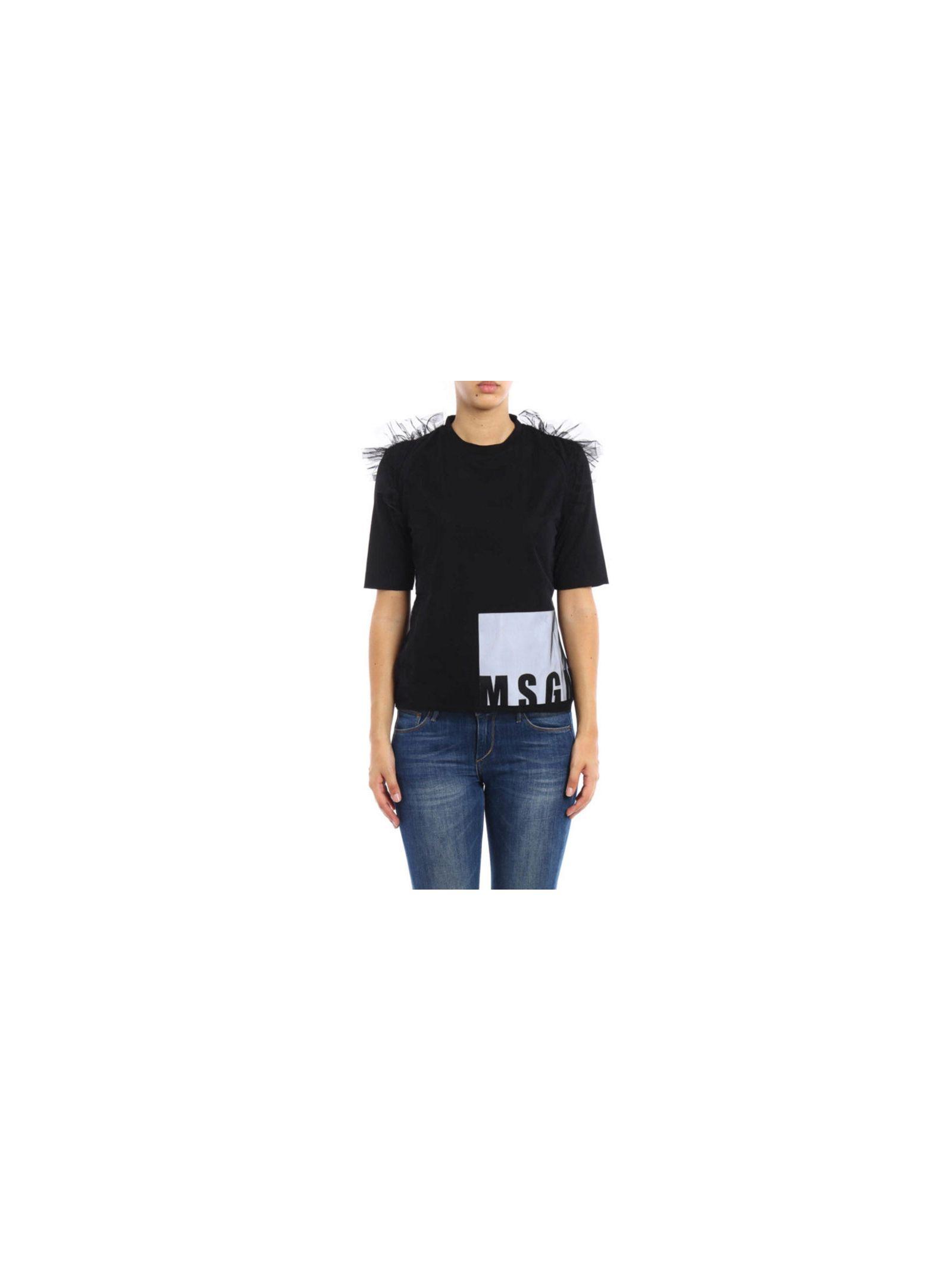 Tricou de damă MSGM, casual, din bumbac