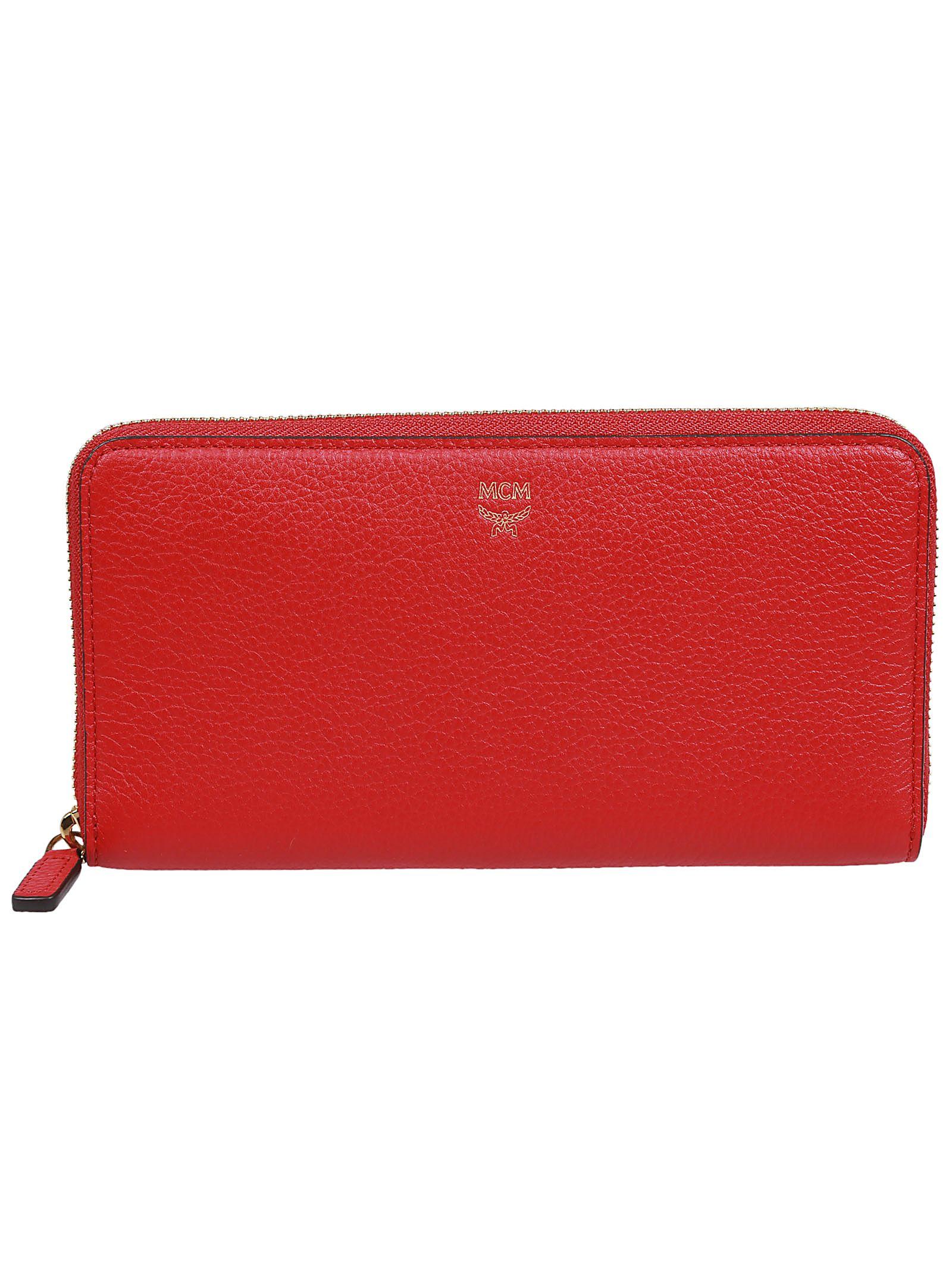 Mcm Milla Zip Around Wallet