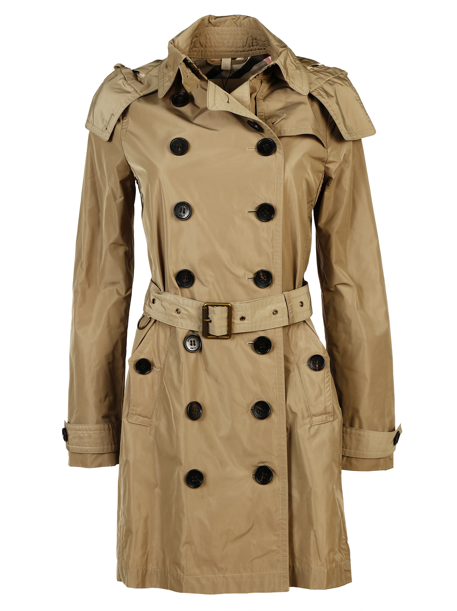 burberry brit burberry brit trench coat 3824737. Black Bedroom Furniture Sets. Home Design Ideas
