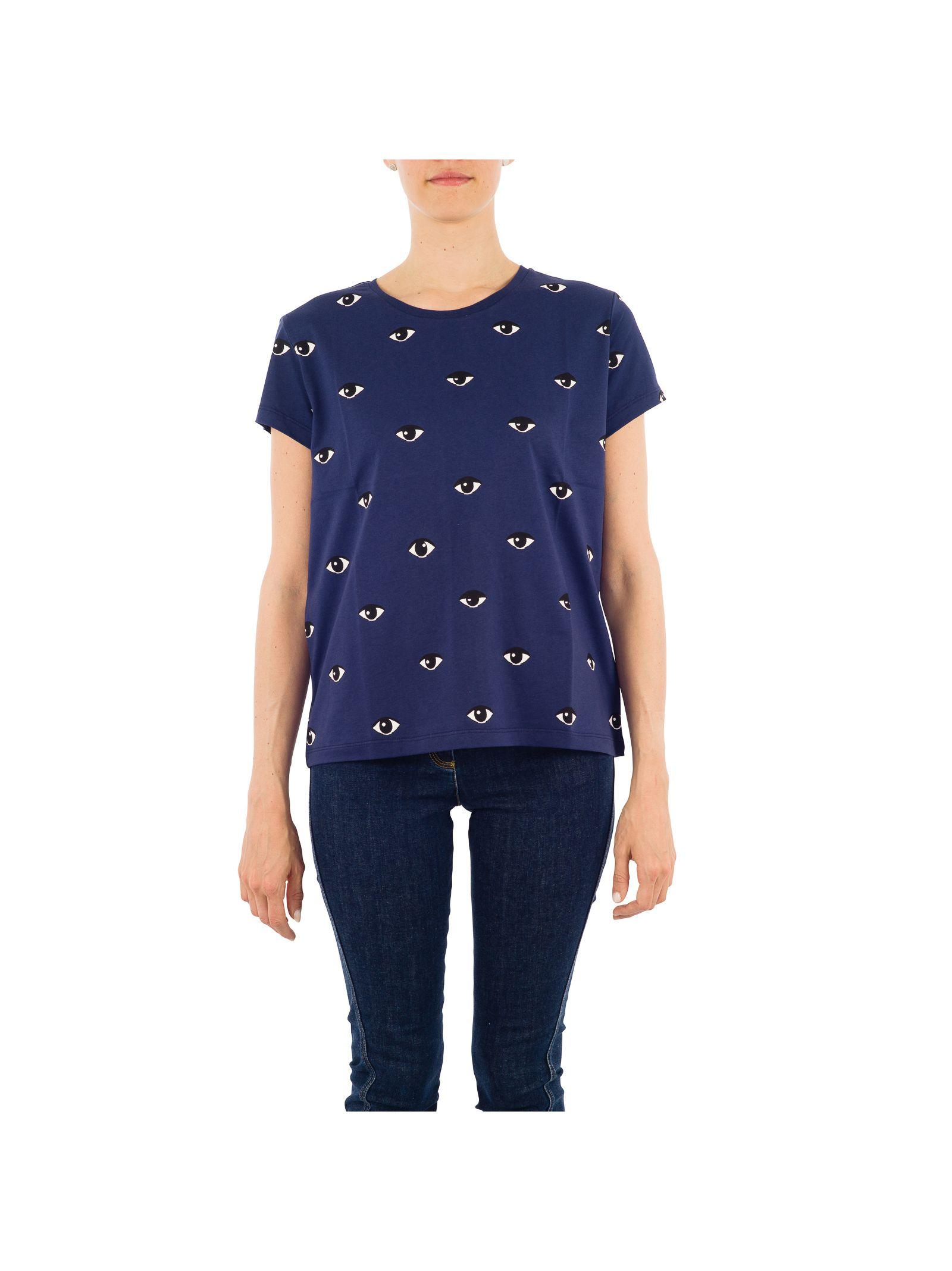 Tricou de damă KENZO, din bumbac, cu mânecă scurtă