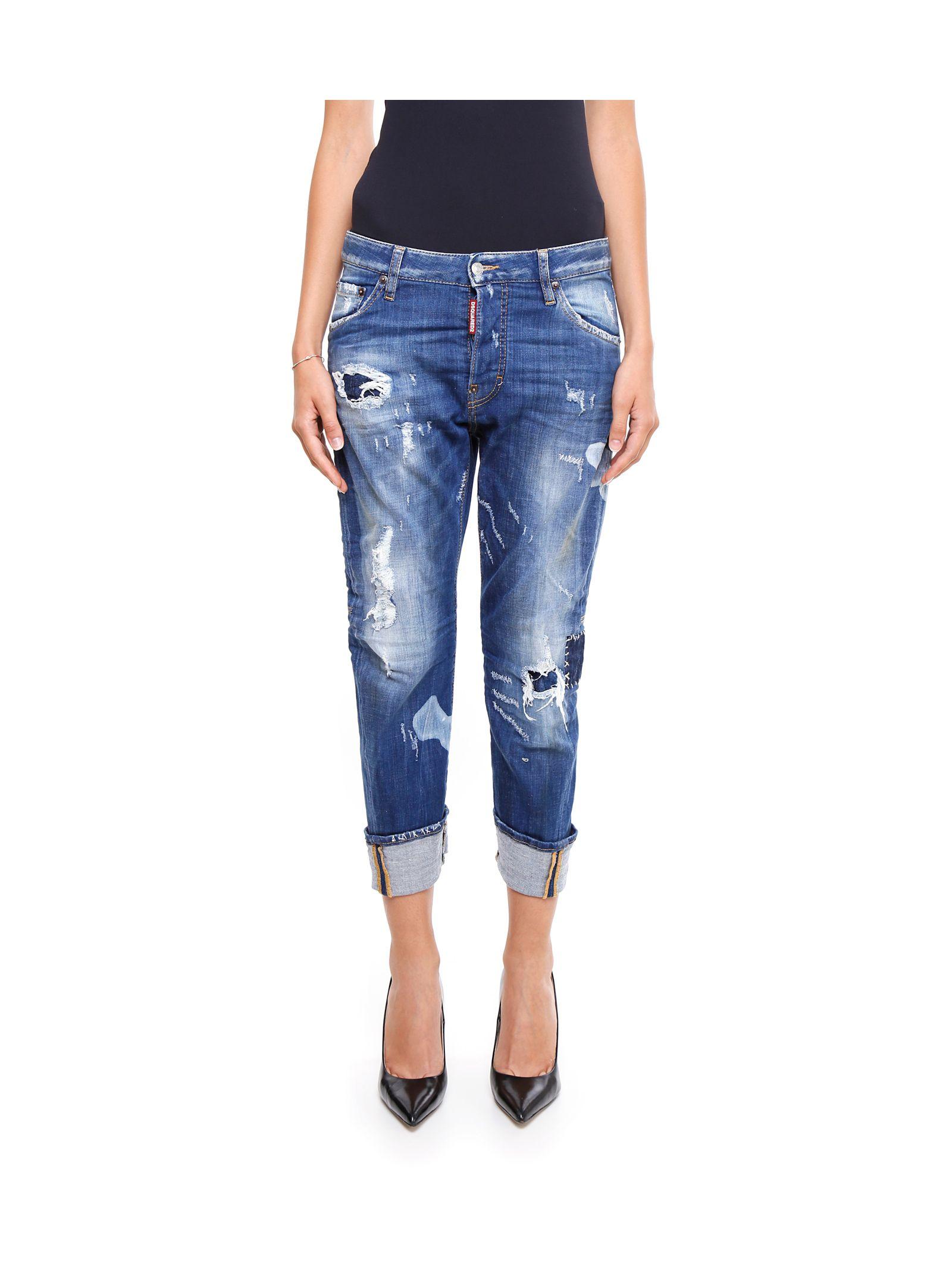 Jeanși de damă DSQUARED2