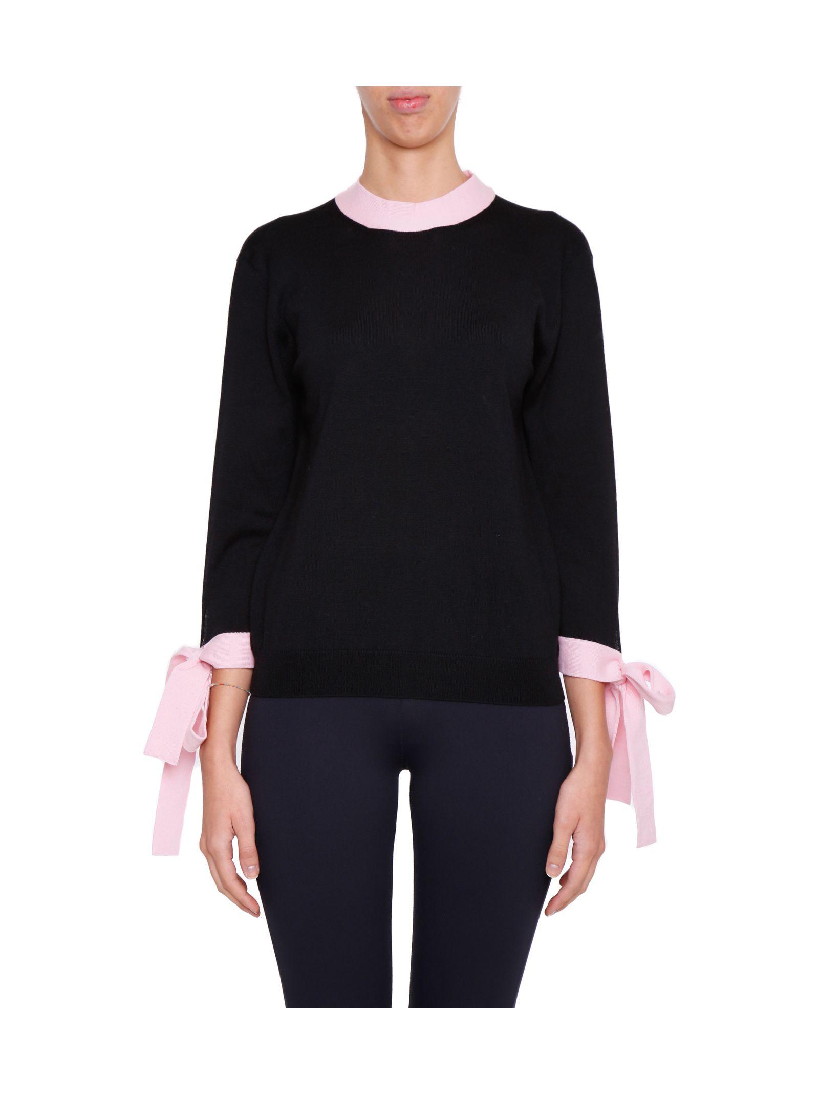 Pulover de damă MSGM, fashion, tiv cu nervuri
