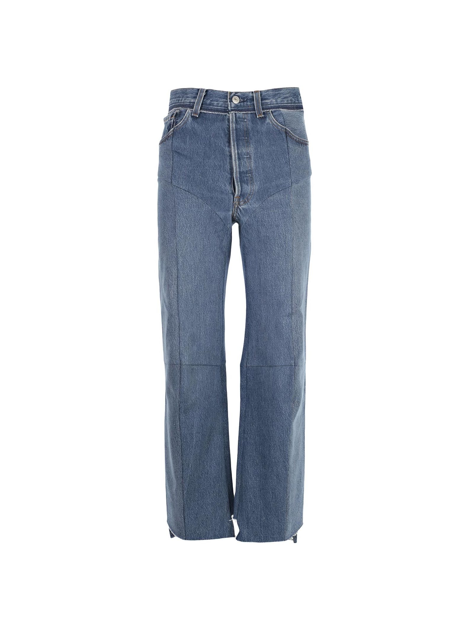 Jeans From Vetements: Blue Cotton Jeans