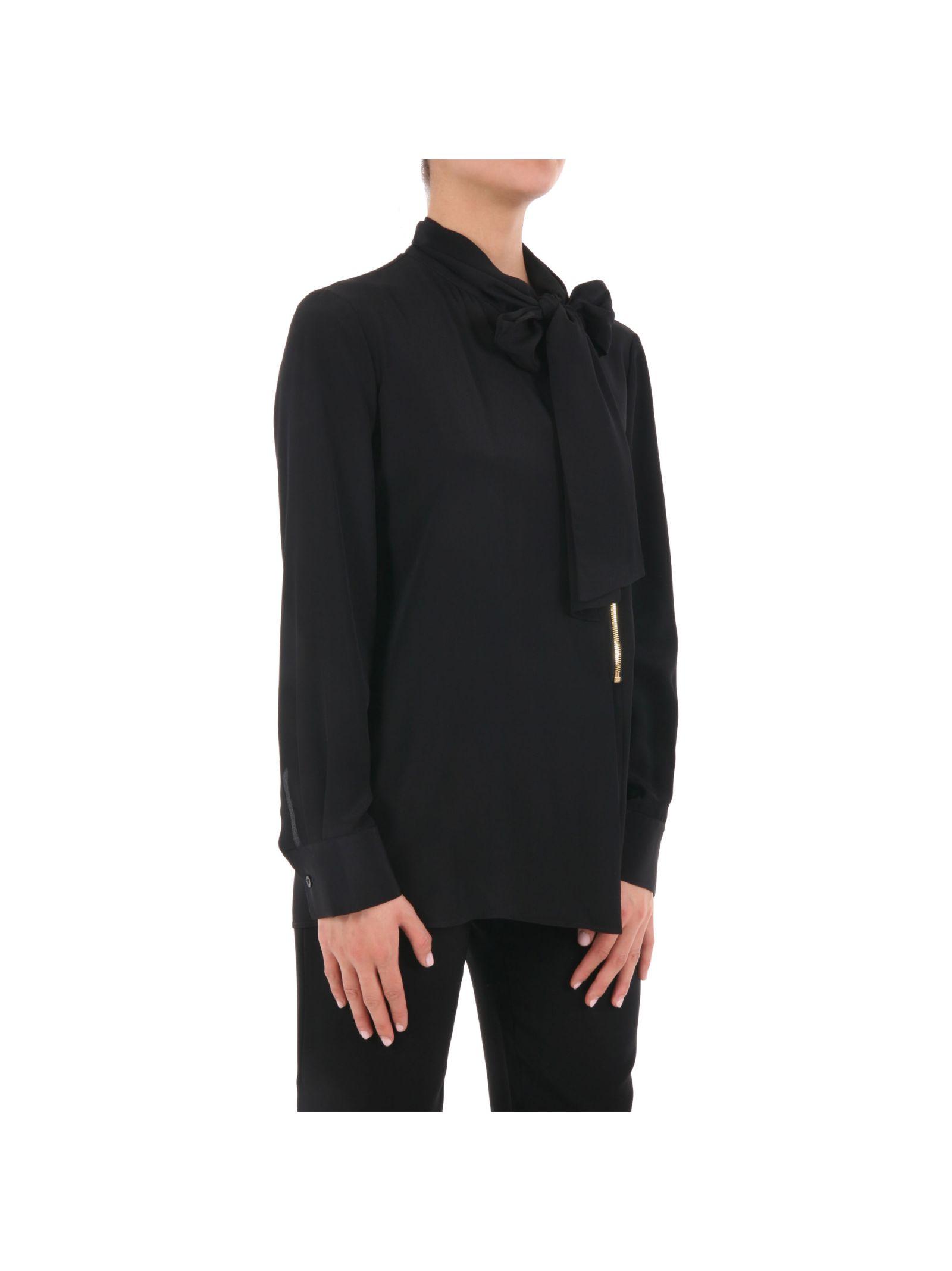 Bluză de damă BOUTIQUE MOSCHINO, elegantă, din mătase