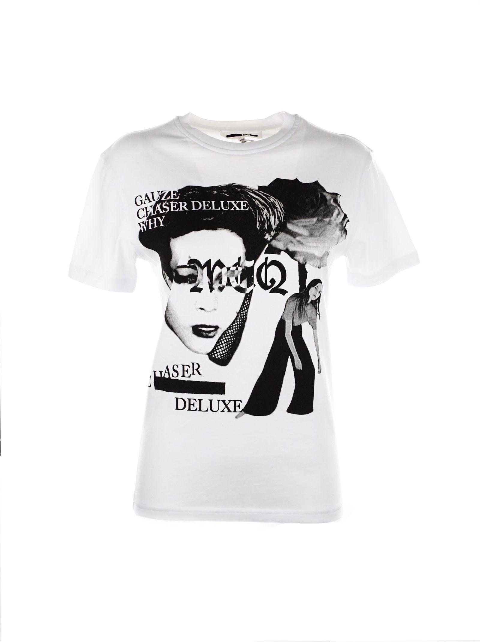 Tricou de damă ALEXANDER MCQUEEN Bandgraphic