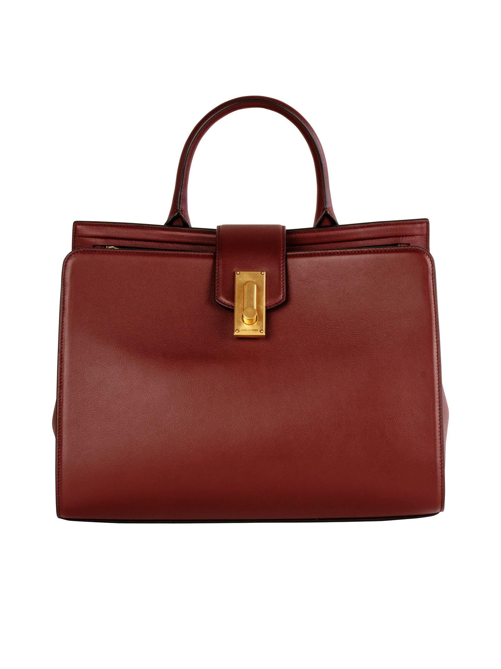 marc jacobs female 248826 shop onlin marc jacobs plum leather handle bag
