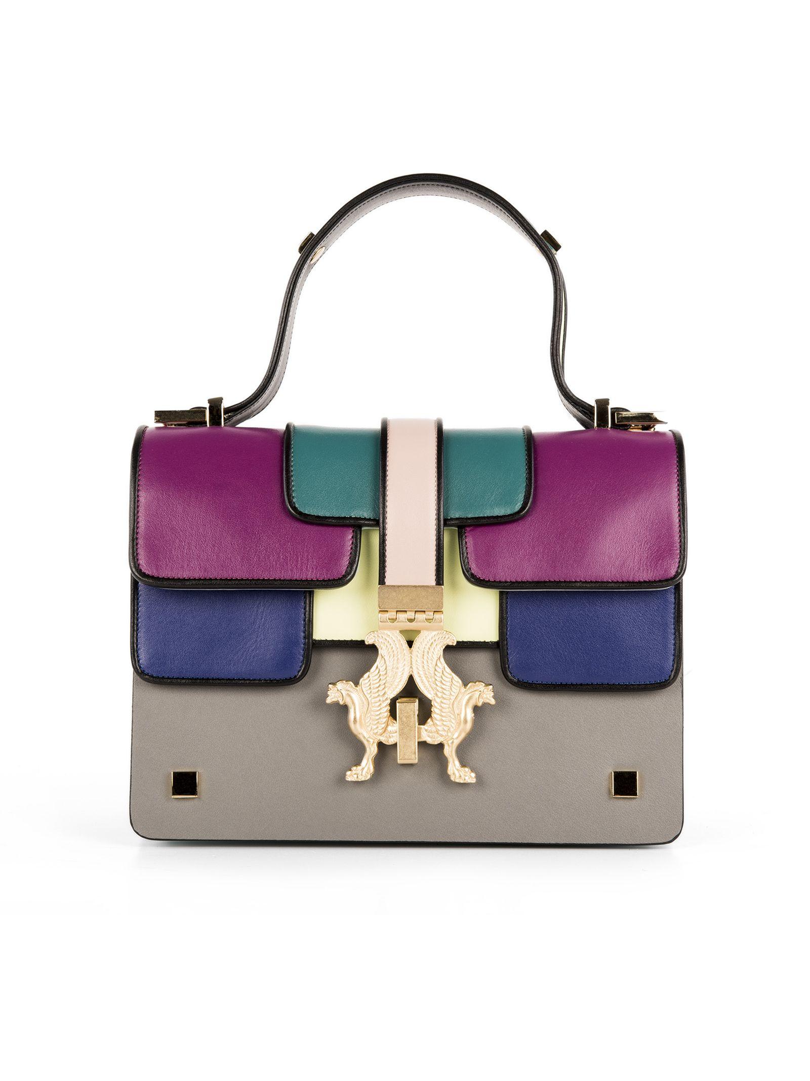 Geantă de damă GIANCARLO PETRIGLIA, fashion, multicoloră