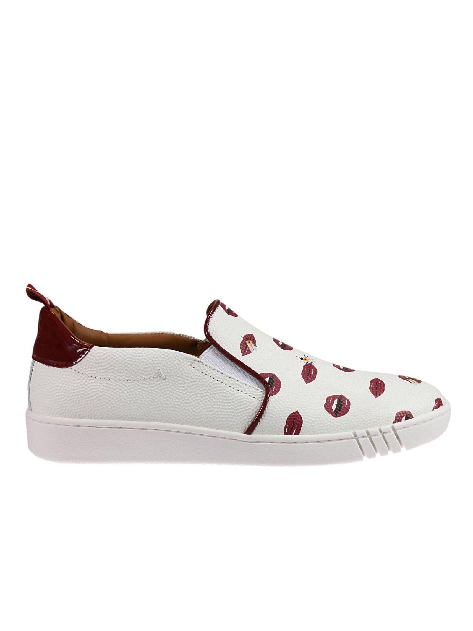 Pantofi sport de damă BALLY, ușori, confortabili, model fashion, cu imprimeu